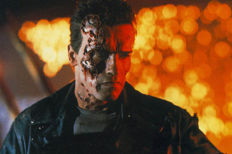 <strong>The Terminator – <i>Terminator 2: Judgement Day</i>, 1991</strong>