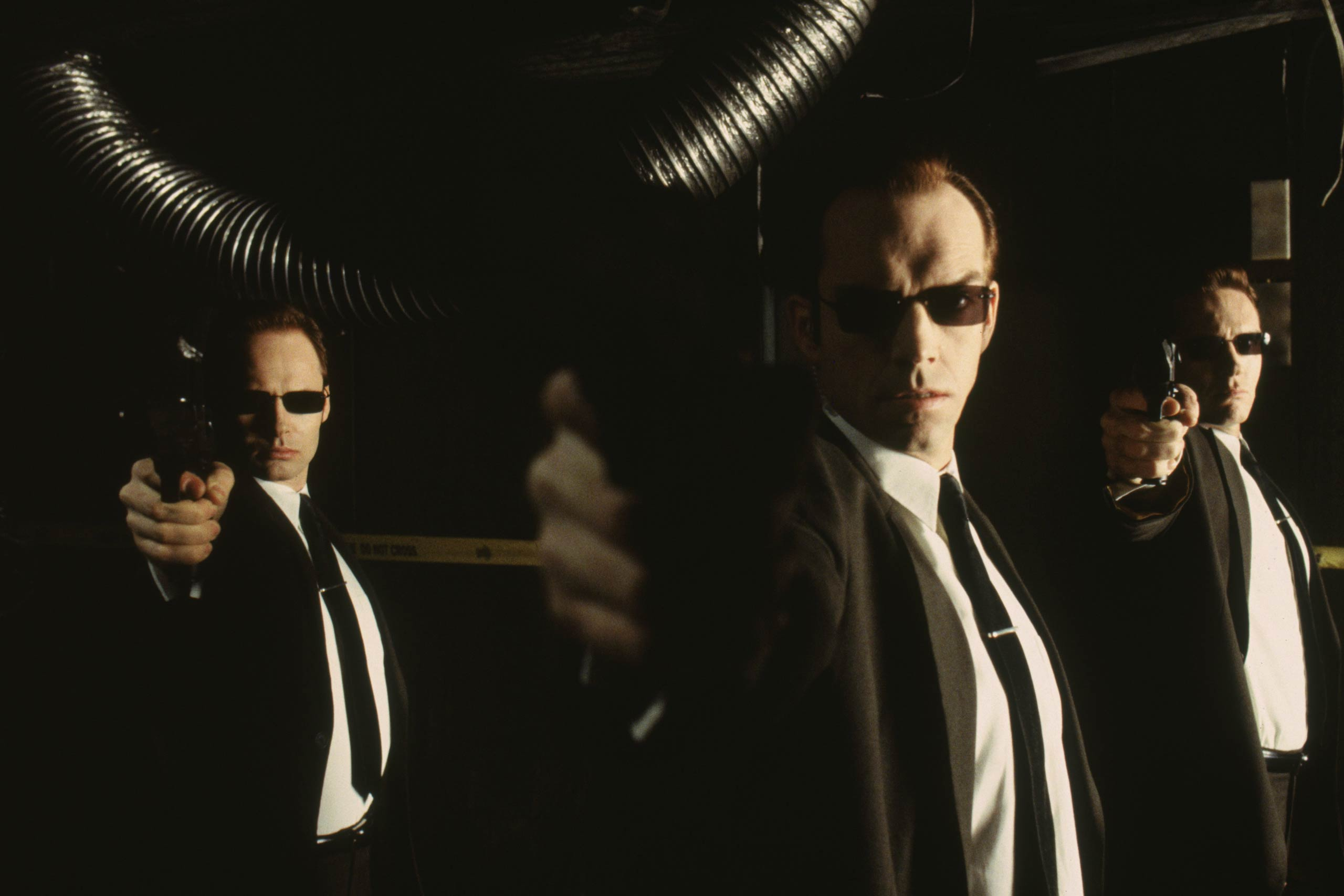 <strong>Agent Smith – <i>The Matrix</i>, 1999</strong>