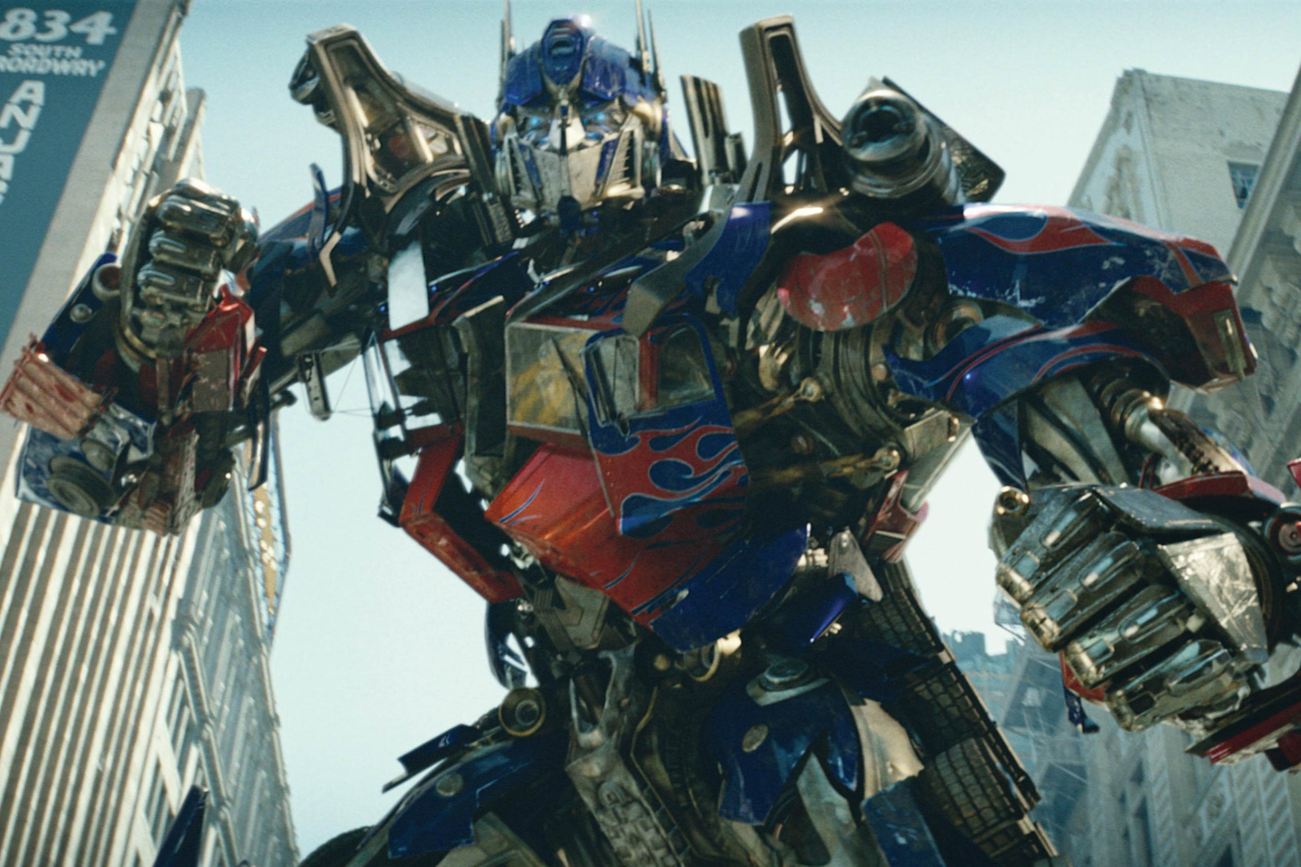 <strong>Optimus Prime – <i>Transformers</i>, 2007</strong>