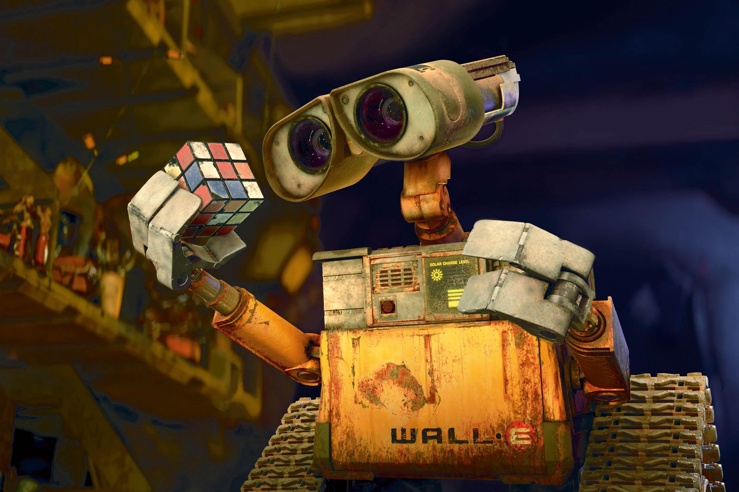 <strong>Wall-E – <i>Wall-E</i>, 2008</strong>