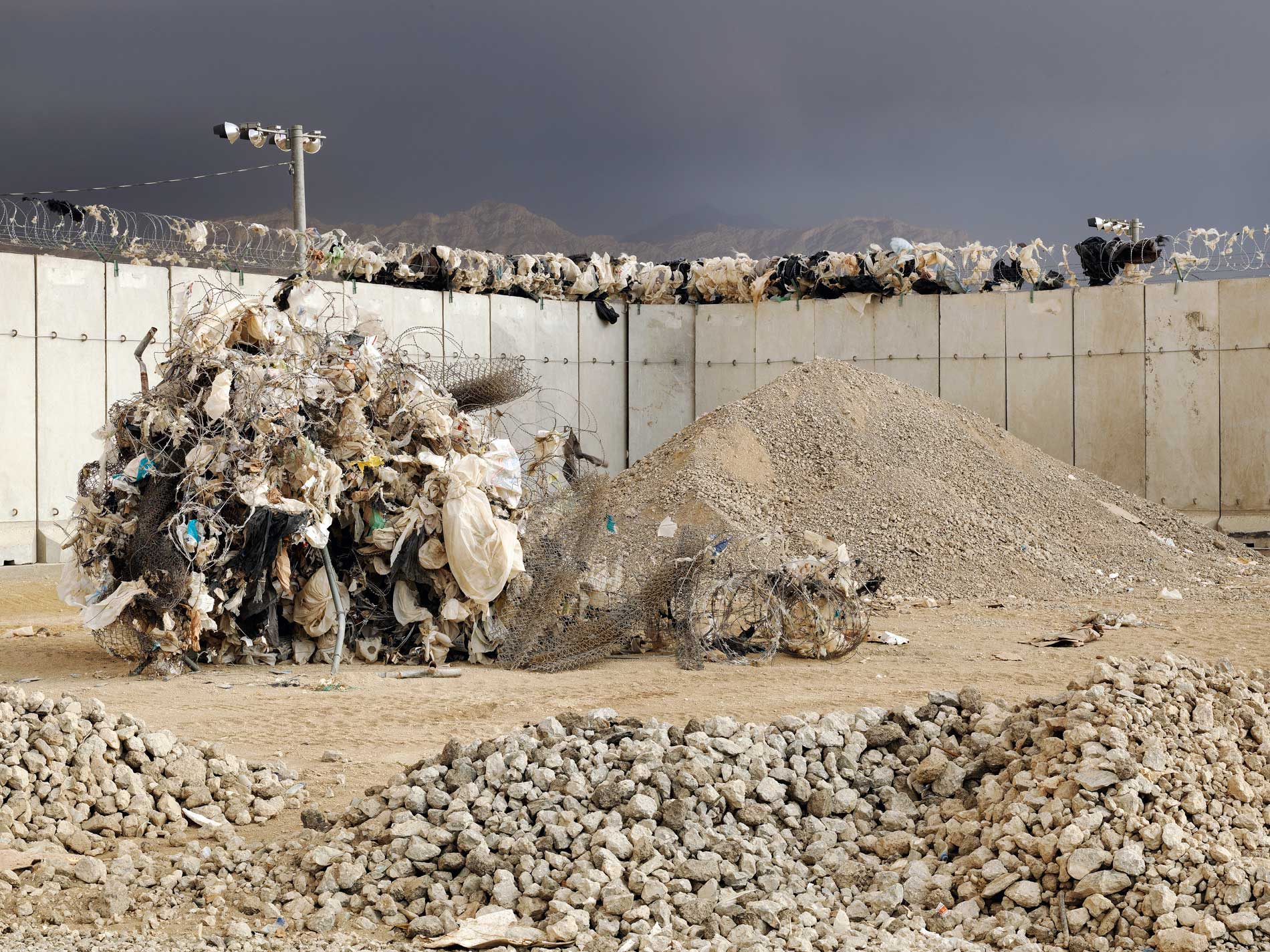 Wired Rawfile: The Mountains Of MajeedScene from Bagram Airfield U.S. military base in Afghanistan.