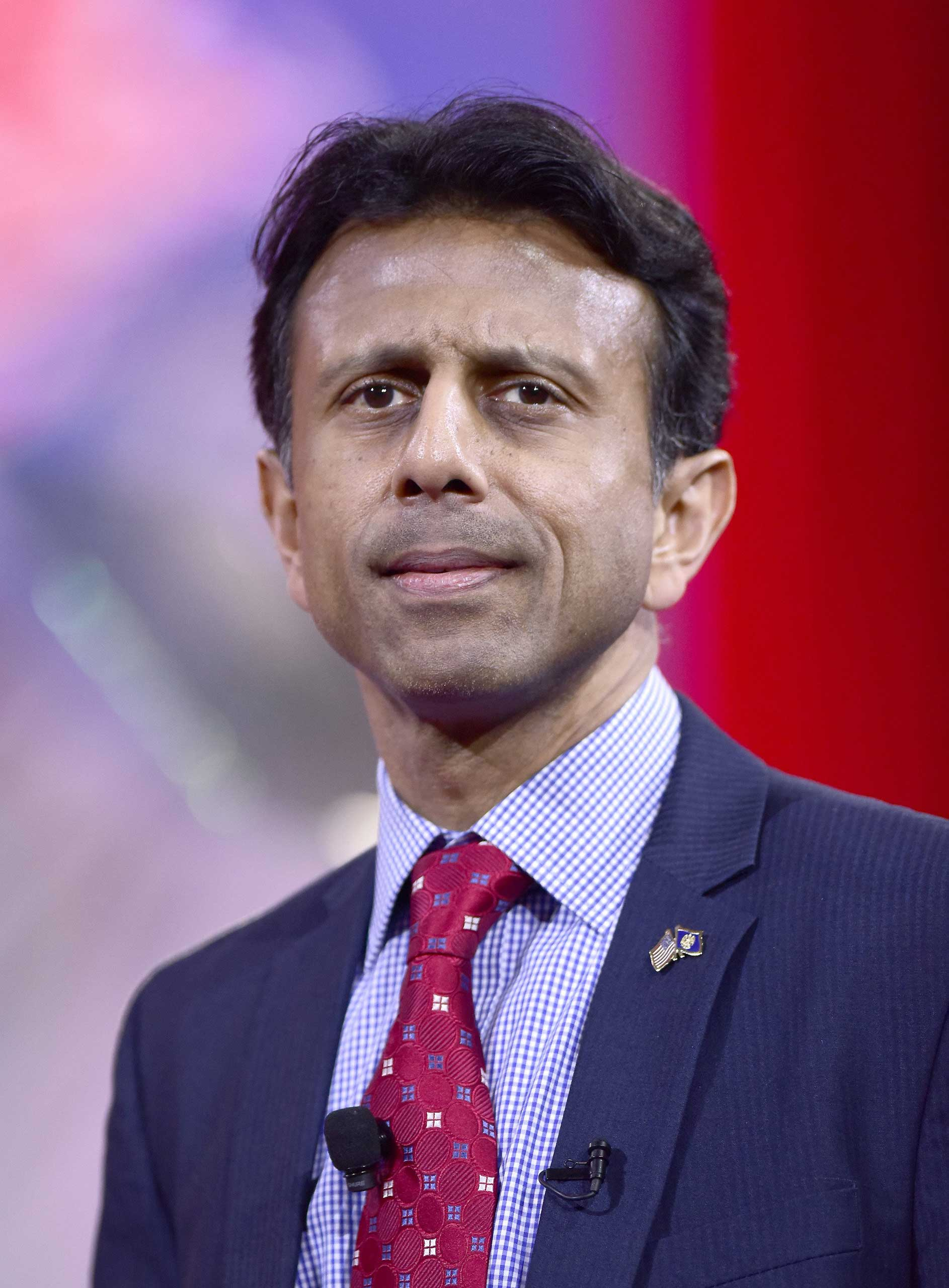 Louisiana Governor Bobby Jindal speaks at the Conservative Political Action Conference (CPAC) in National Harbor, Md. on Feb. 26, 2015.