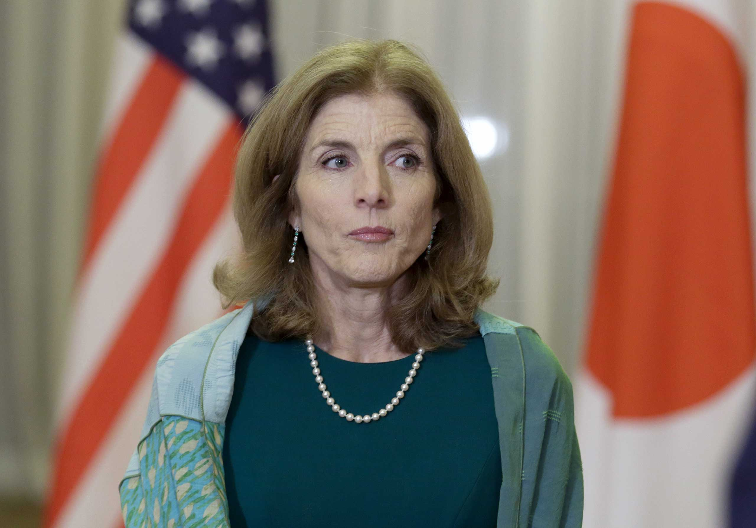 U.S. Ambassador to Japan Caroline Kennedy in Tokyo on March 17, 2015