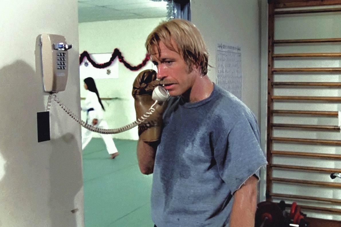 Chuck Norris as Matt Logan in A Force of One, 1979.