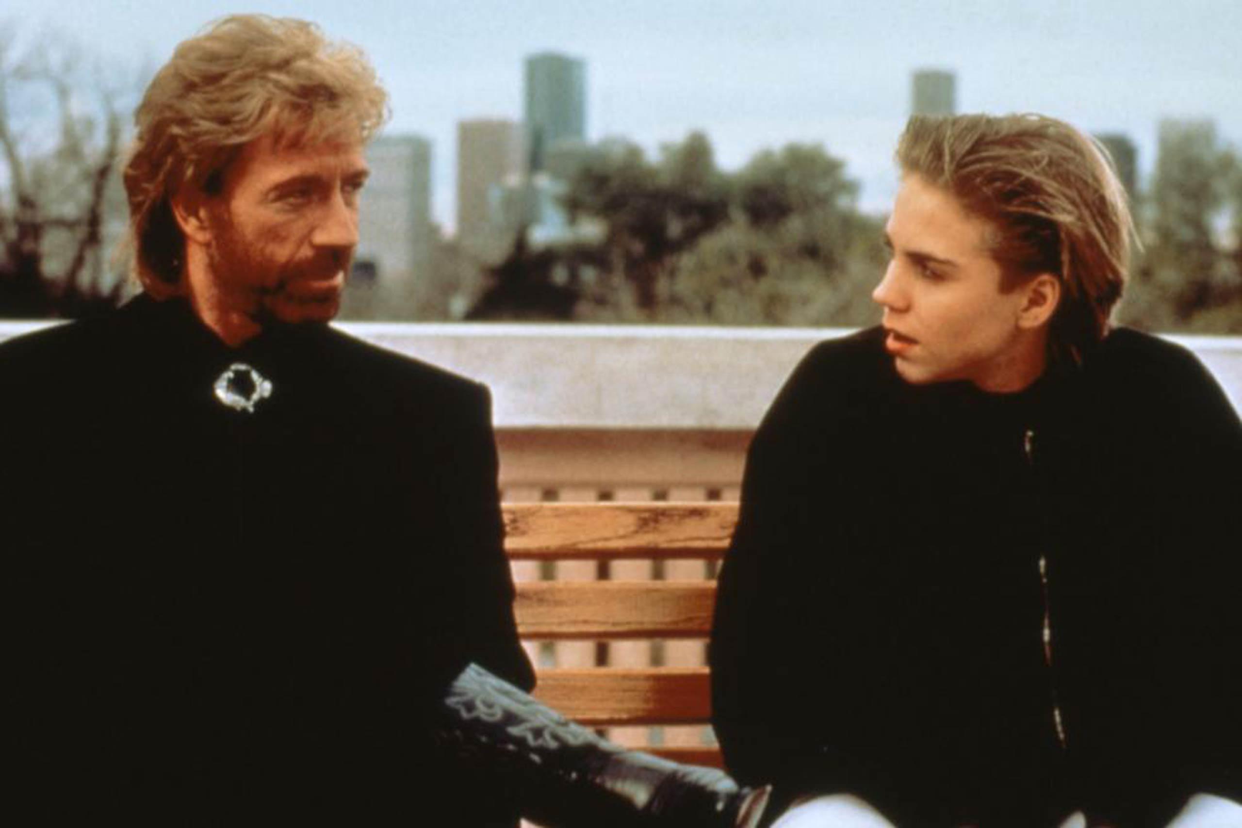 Chuck Norris as himself in Sidekicks, 1992.
