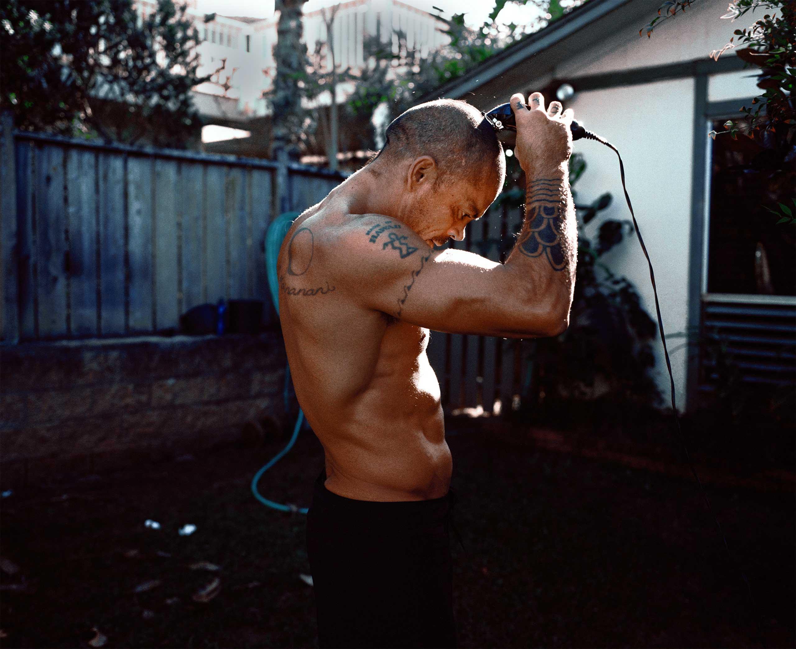 Kala Alexander, professional surfer and member of Da Hui, Oahu's North Shore,  Hawaii.