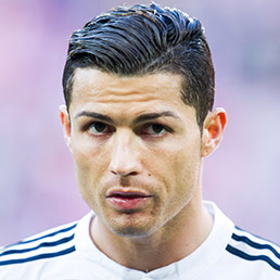 Cristiano Ronaldo of Real Madrid looks on prior to the start the La Liga match between Athletic Club Bilbao and Real Madrid at San Mames Stadium in Bilbao, Spain, on March 7, 2015