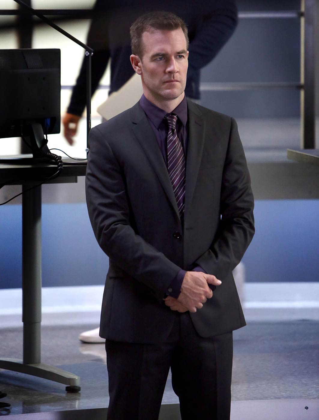 James Van Der Beek stars in CSI: Cyber