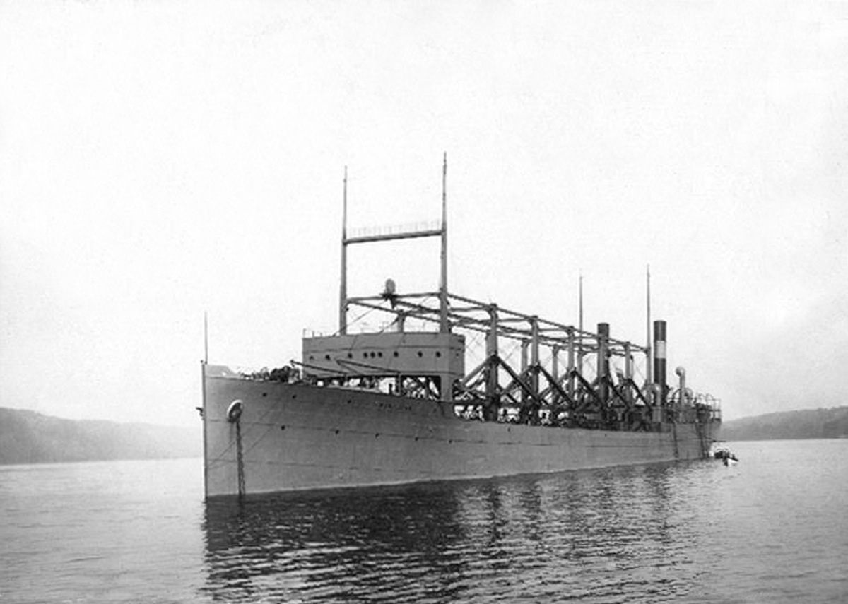 The USS Cyclops, which disapeared in Bermuda in 1918