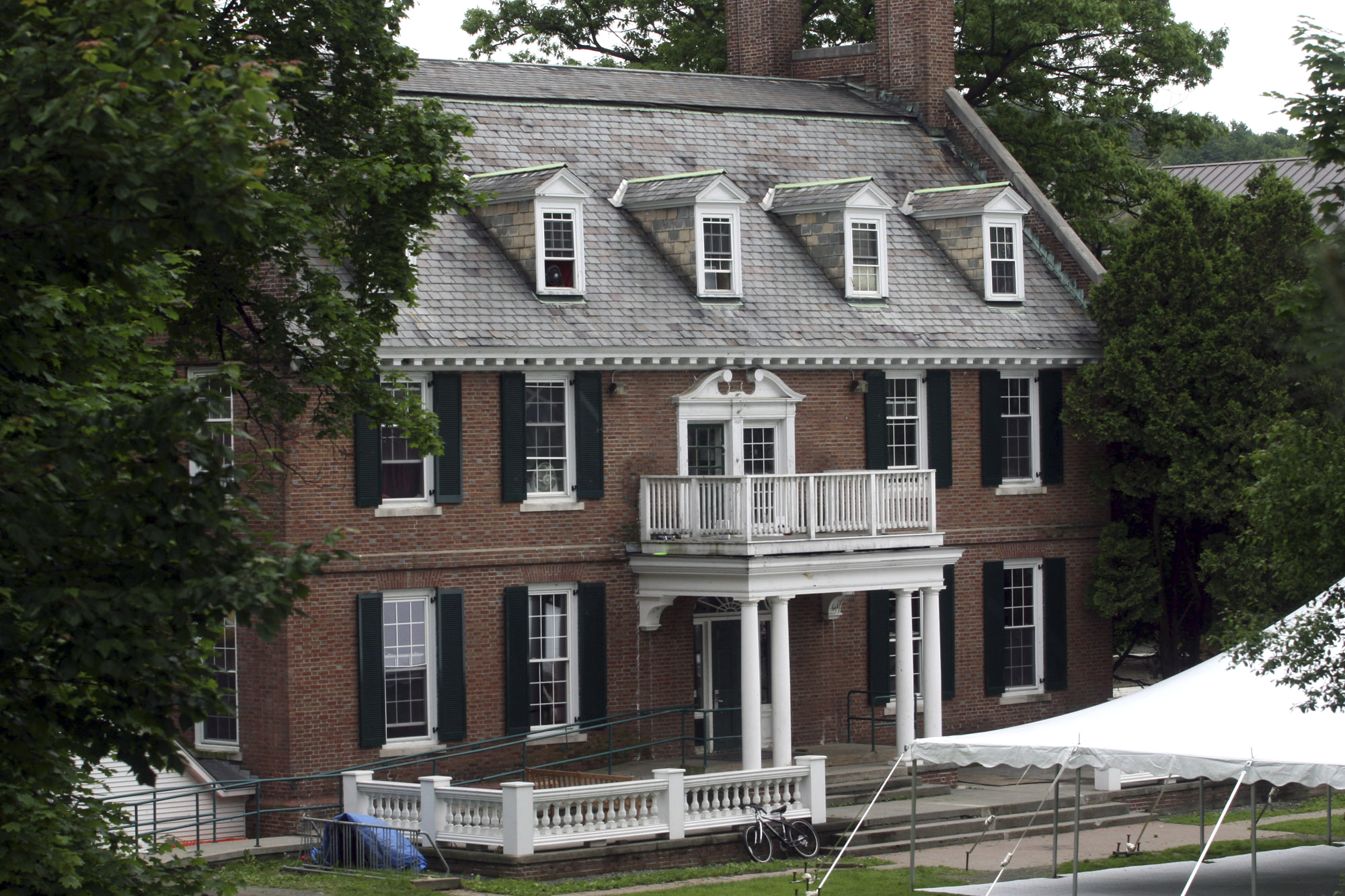 The Alpha Delta fraternity at Dartmouth College in Hanover, N.H. on June 9, 2006.