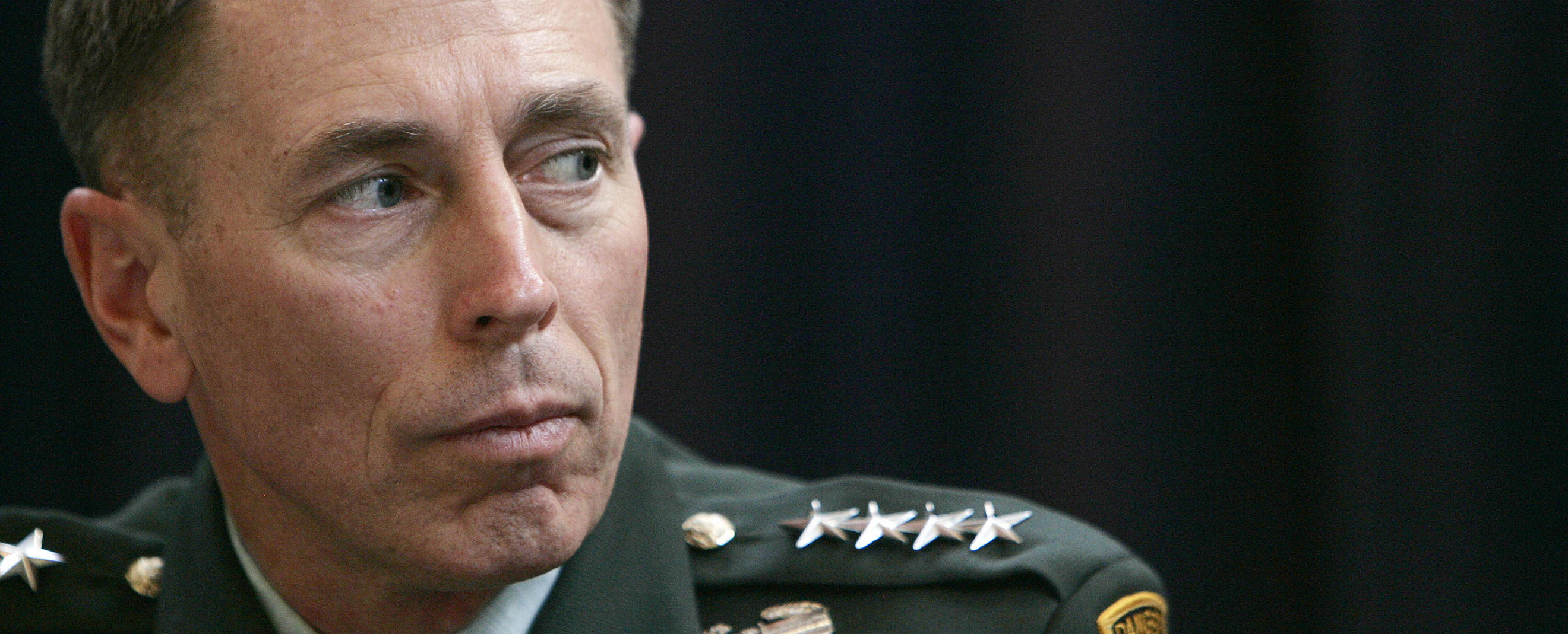 US commander in Iraq General David Petraeus talks at the press conference in London, 18 September 2007, on the current state of affairs for US troops in Iraq. Petraeus was to hold talks with British Prime Minister Gordon Brown on Tuesday, during a stopover on his way back to Baghdad from Washington.  AFP PHOTO/SHAUN CURRY (Photo credit should read SHAUN CURRY/AFP/Getty Images)