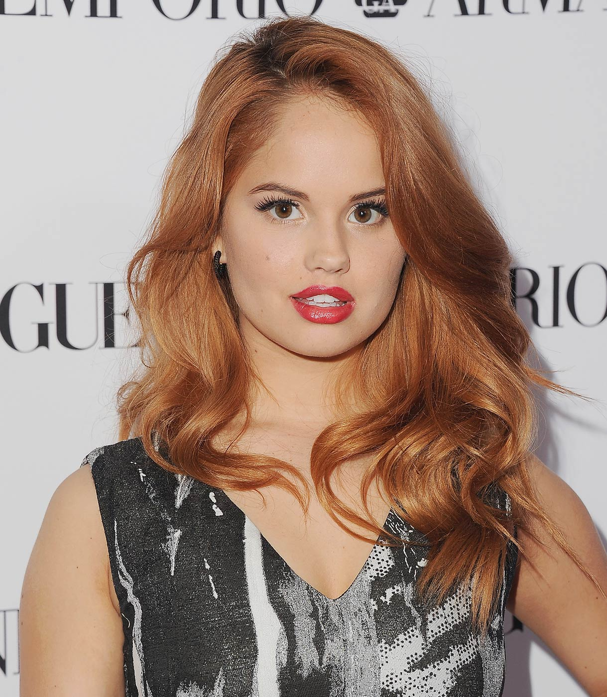 Debby Ryan arrives at the Teen Vogue Young Hollywood Party on September 26, 2014 in Los Angeles, Calif.