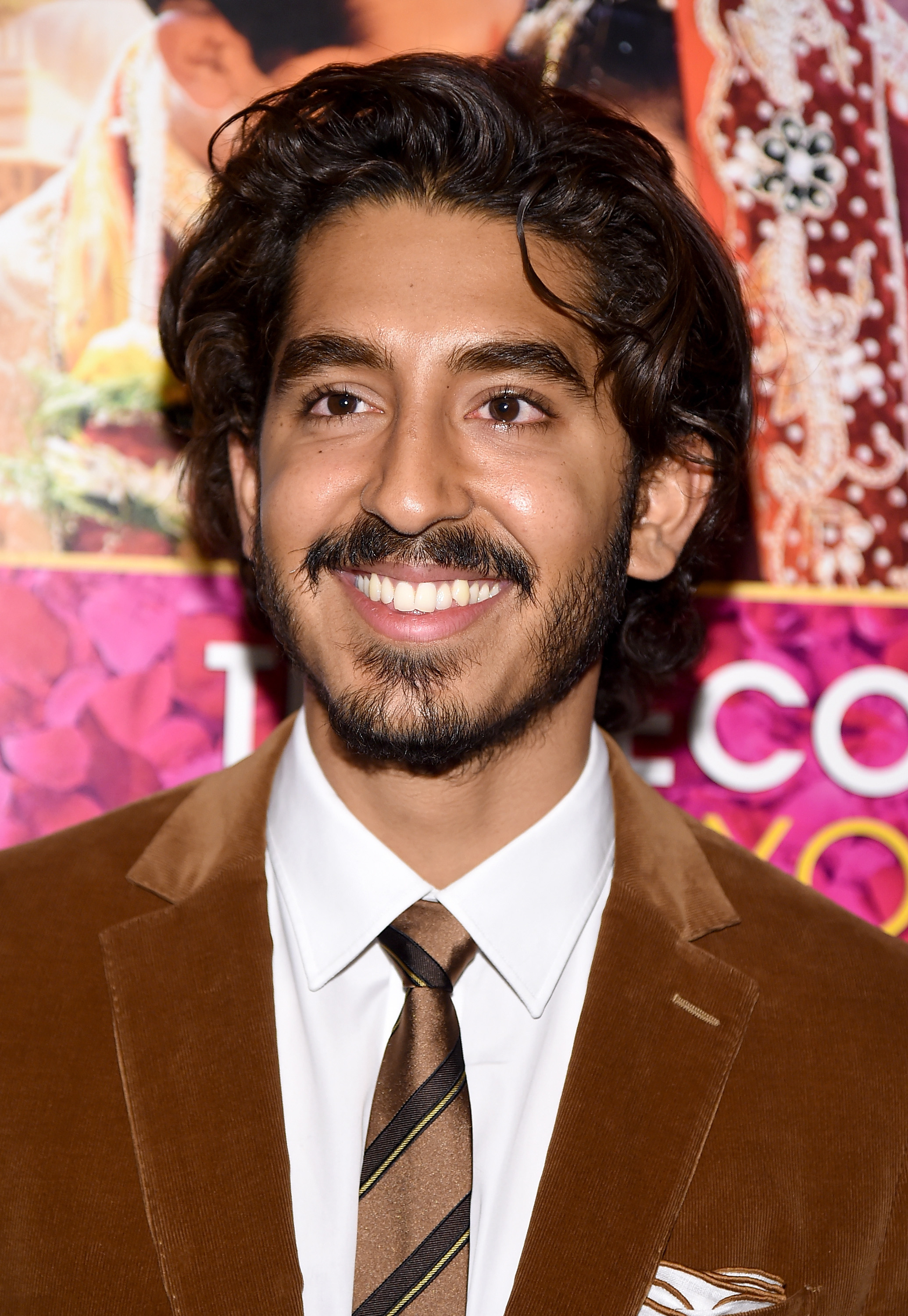 Actor Dev Patel attends  The Second Best Exotic Marigold Hotel  New York Premiere on Mar. 3, 2015 in New York City.