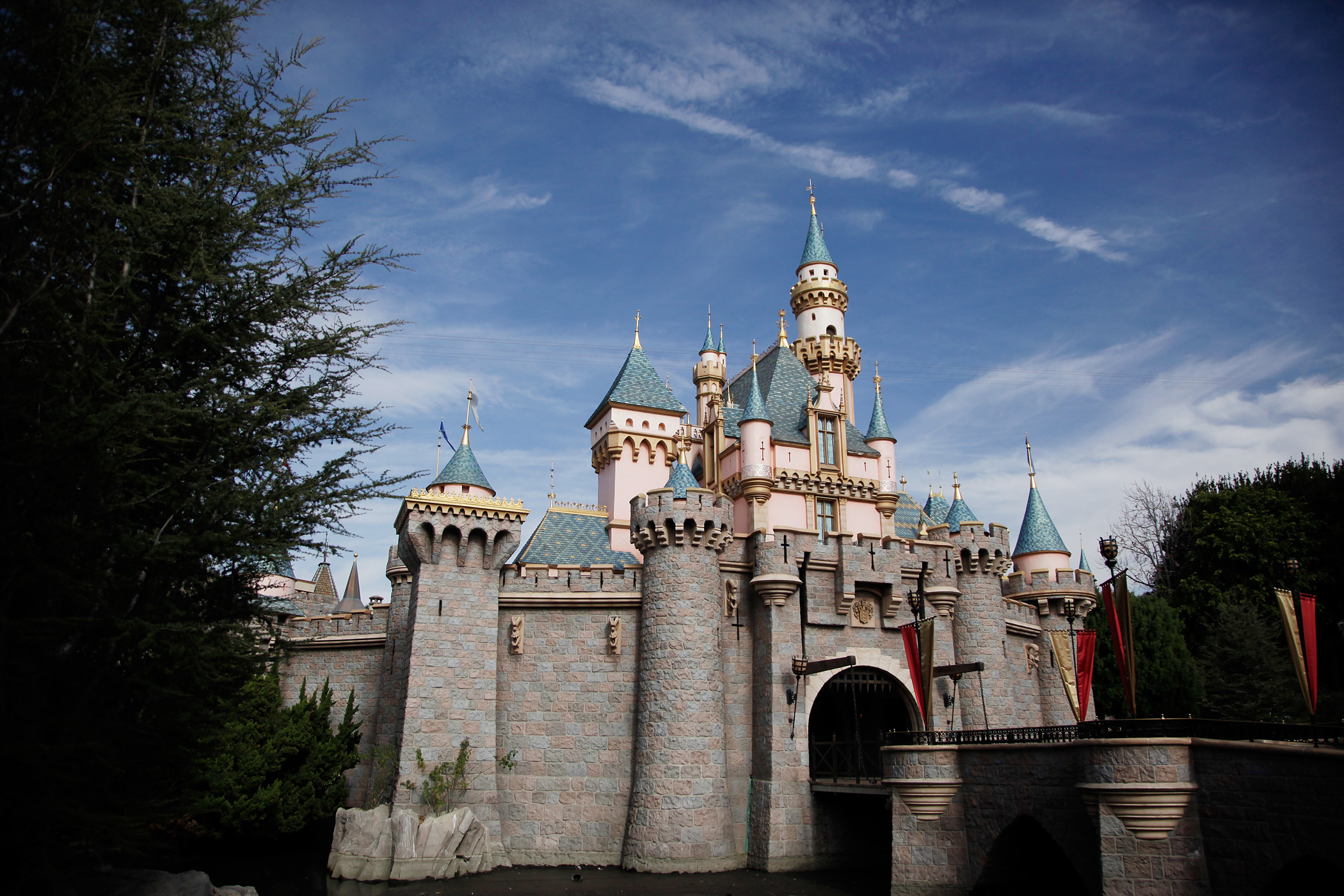Sleeping Beauty's Castle is seen at Disneyland on Jan. 22, 2015, in Anaheim, Calif.