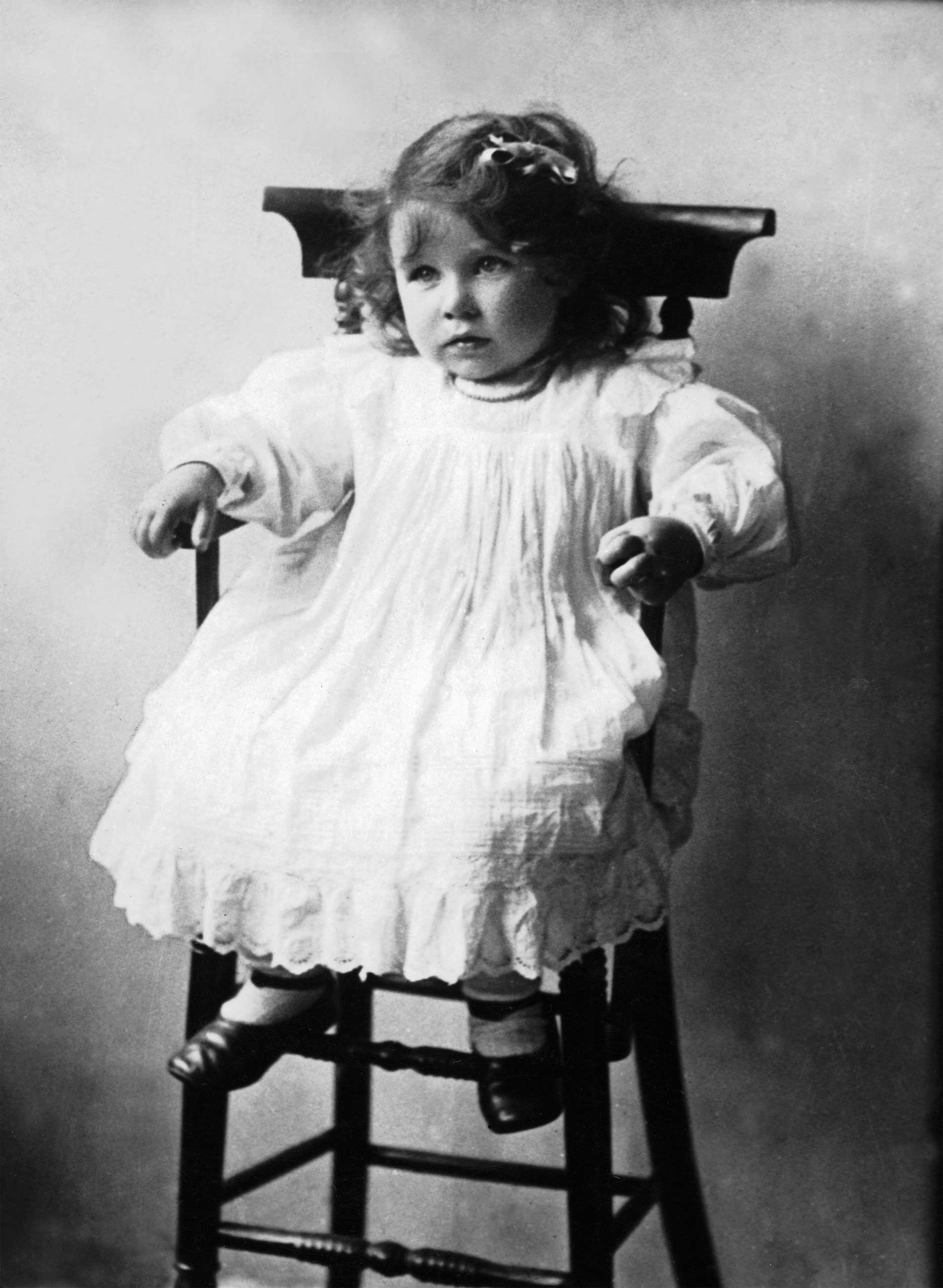 Elizabeth Bowes-Lyon, born to the Scottish aristocracy in 1900, would become royal through marriage to the future George VI. Their eldest daughter is the current Queen.