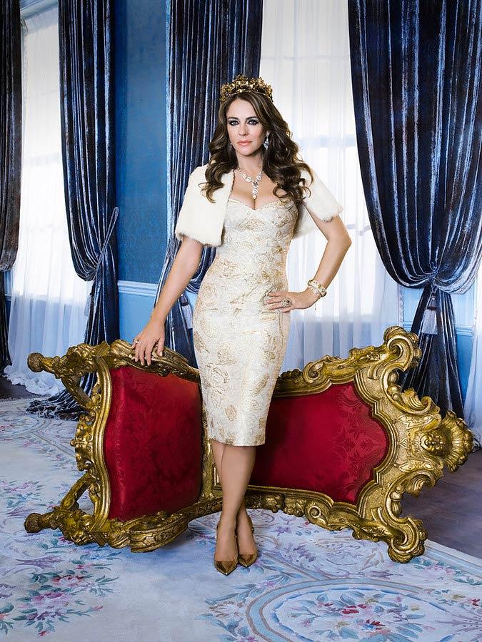 Elizabeth Hurley as Queen Helena in The Royals