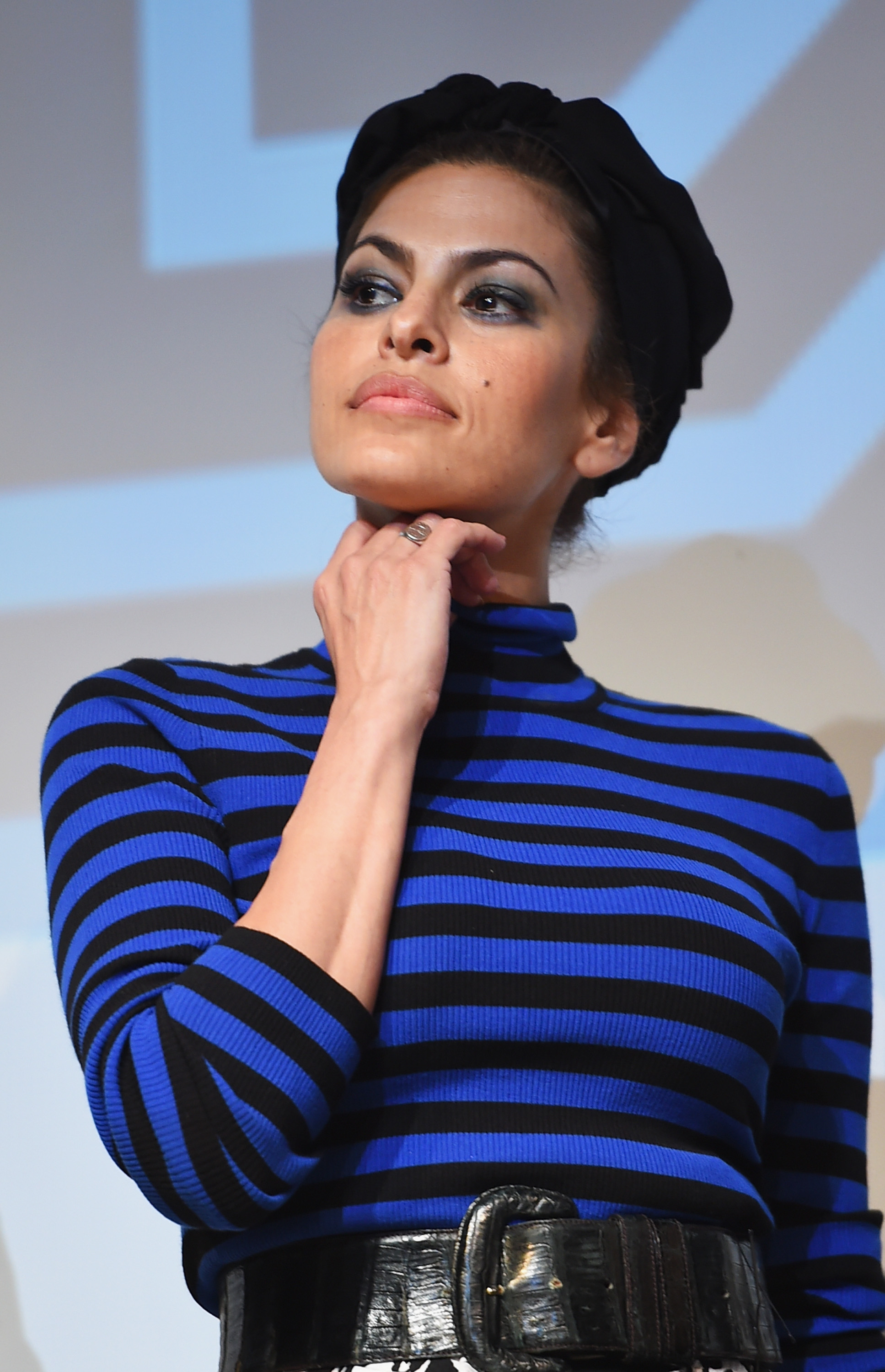 Eva Mendes during the 2015 SXSW Music, Film + Interactive Festival on March 14, 2015 in Austin, Texas.