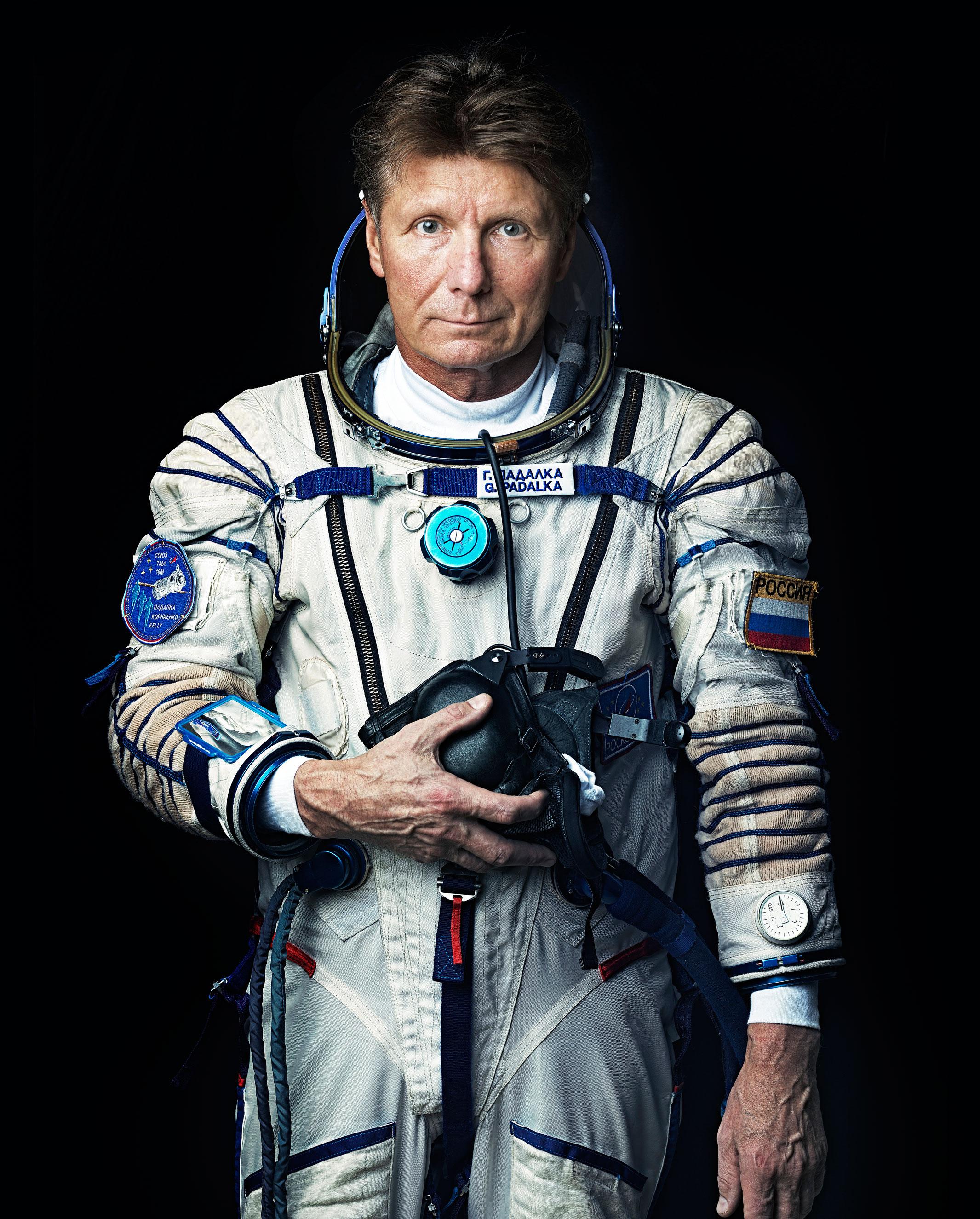 Russian Cosmonaut Gennady Padalka