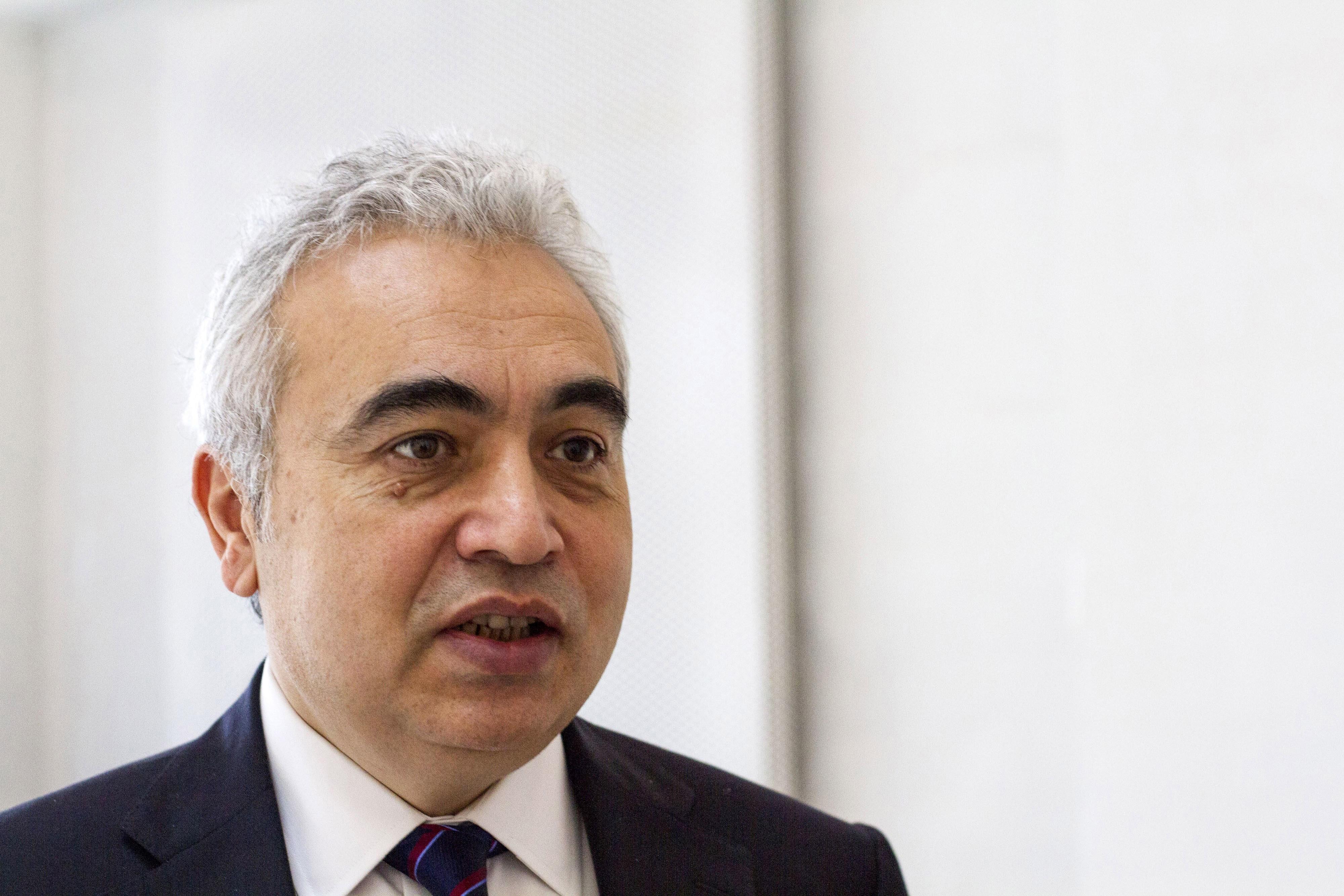 Fatih Birol of the International Energy Agency (IEA) speaks to media during World Energy Outlook 2014 in Copenhagen, Denmark, on Nov. 18, 2014.