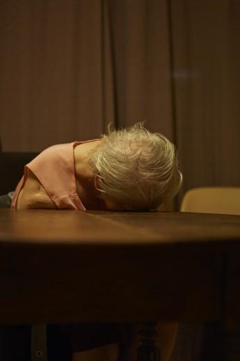 Dec. 9, 2014. Charleroi, Belgium. A woman in a psychiatric asylum.
