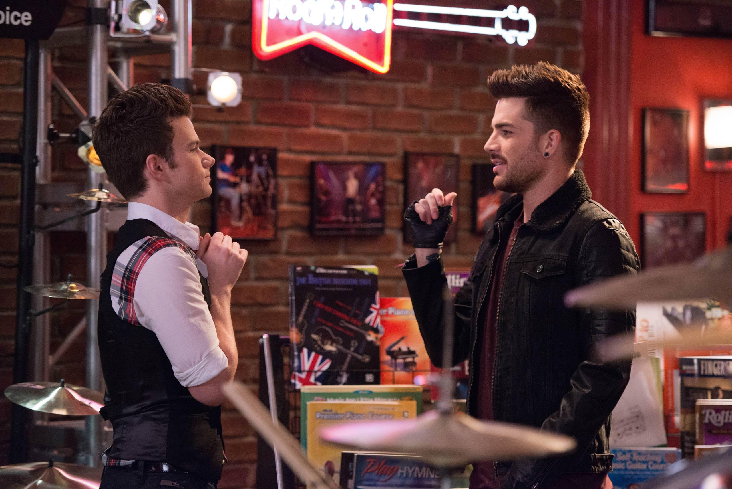 Adam Lambert as Elliott Gilbert