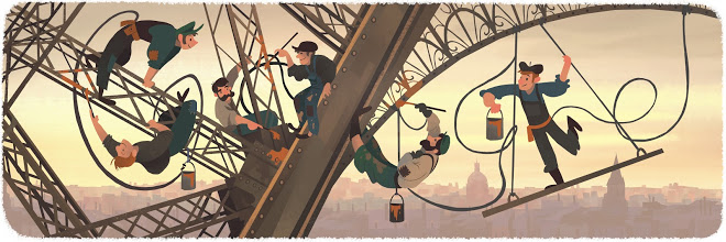 March 31, 2015 Honoring the 126th anniversary of the public opening of the Eiffel Tower.