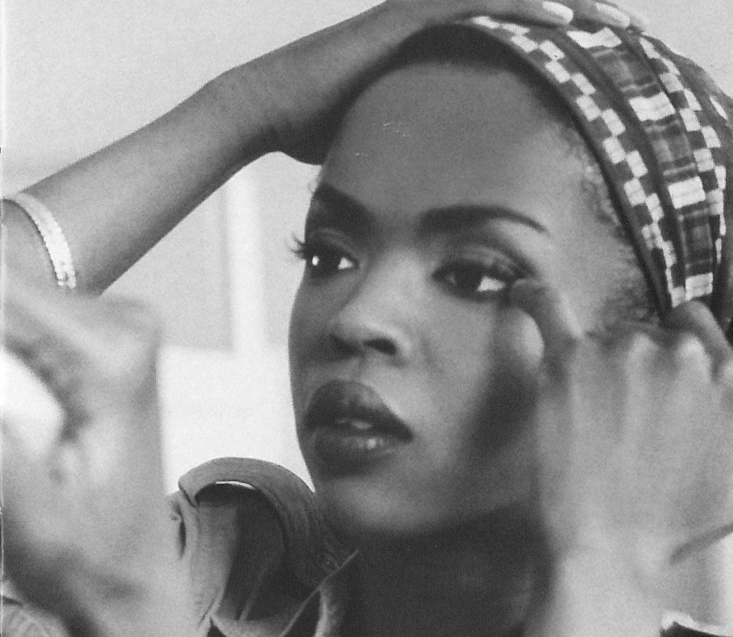 After the breakup of the Fugees, Lauryn Hill released an acclaimed 1998 solo album that fused soul, R&B, rap and reggae. (Lauryn Hill/Library of Congress)