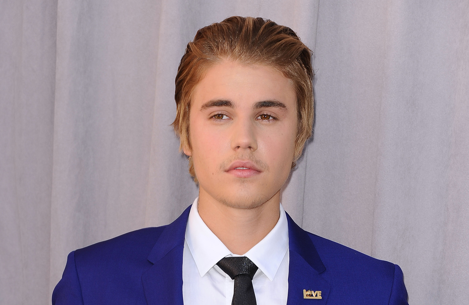 Justin Bieber attends the Comedy Central Roast of Justin Bieber on March 14, 2015, in Los Angeles