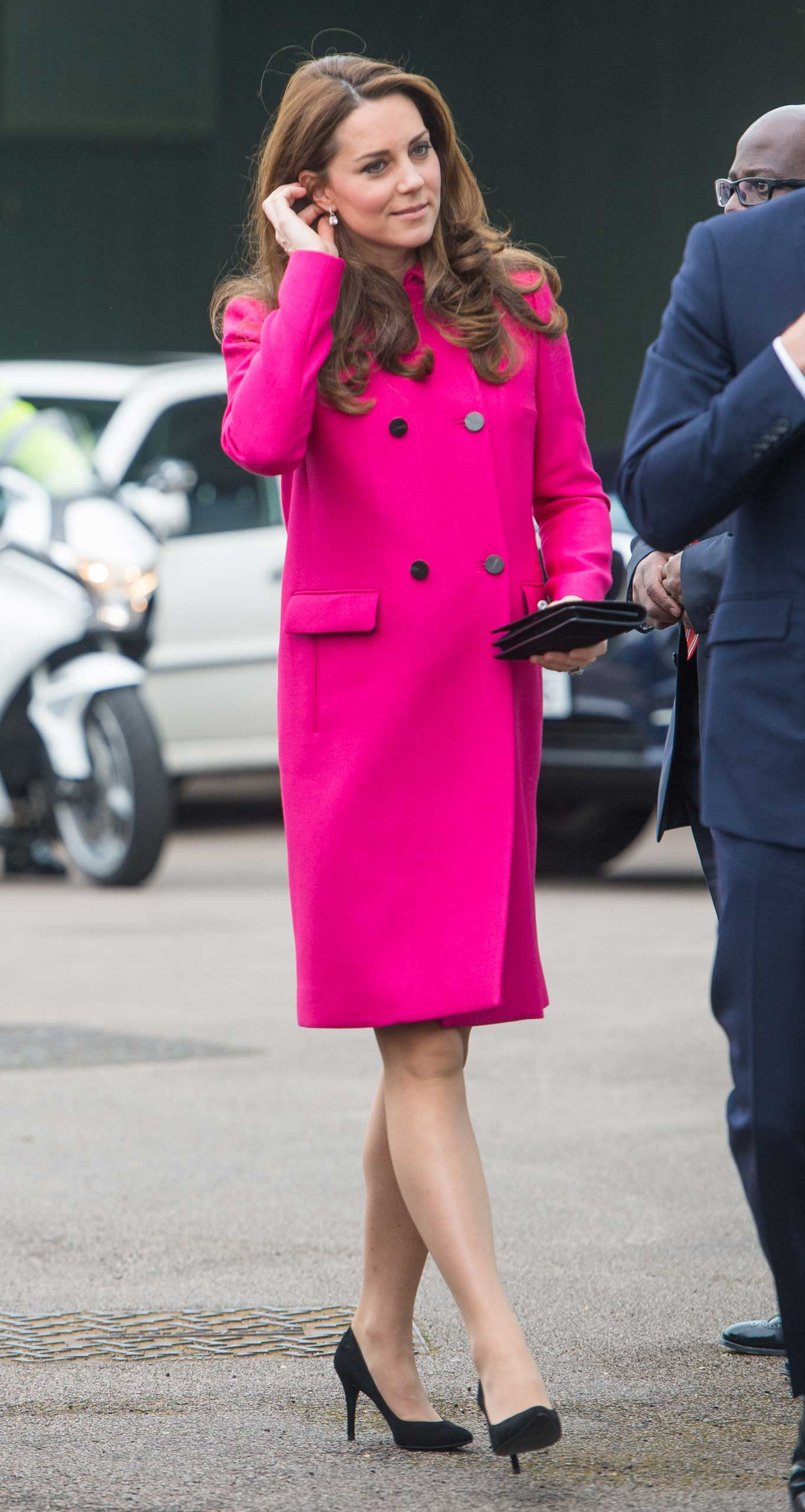 Catherine, Duchess of Cambridge visits the Stephen Lawrence Centre on March 27, 2015 in London, England.