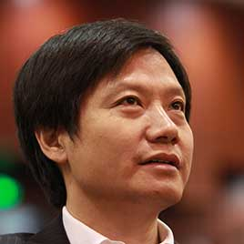 Lei Jun, Chairman and CEO of Xiaomi Technology and Chairman of Kingsoft Corp., attends the 121st anniversary of Wuhan University in Wuhan city, central China's Hubei province on Nov. 29, 2014.