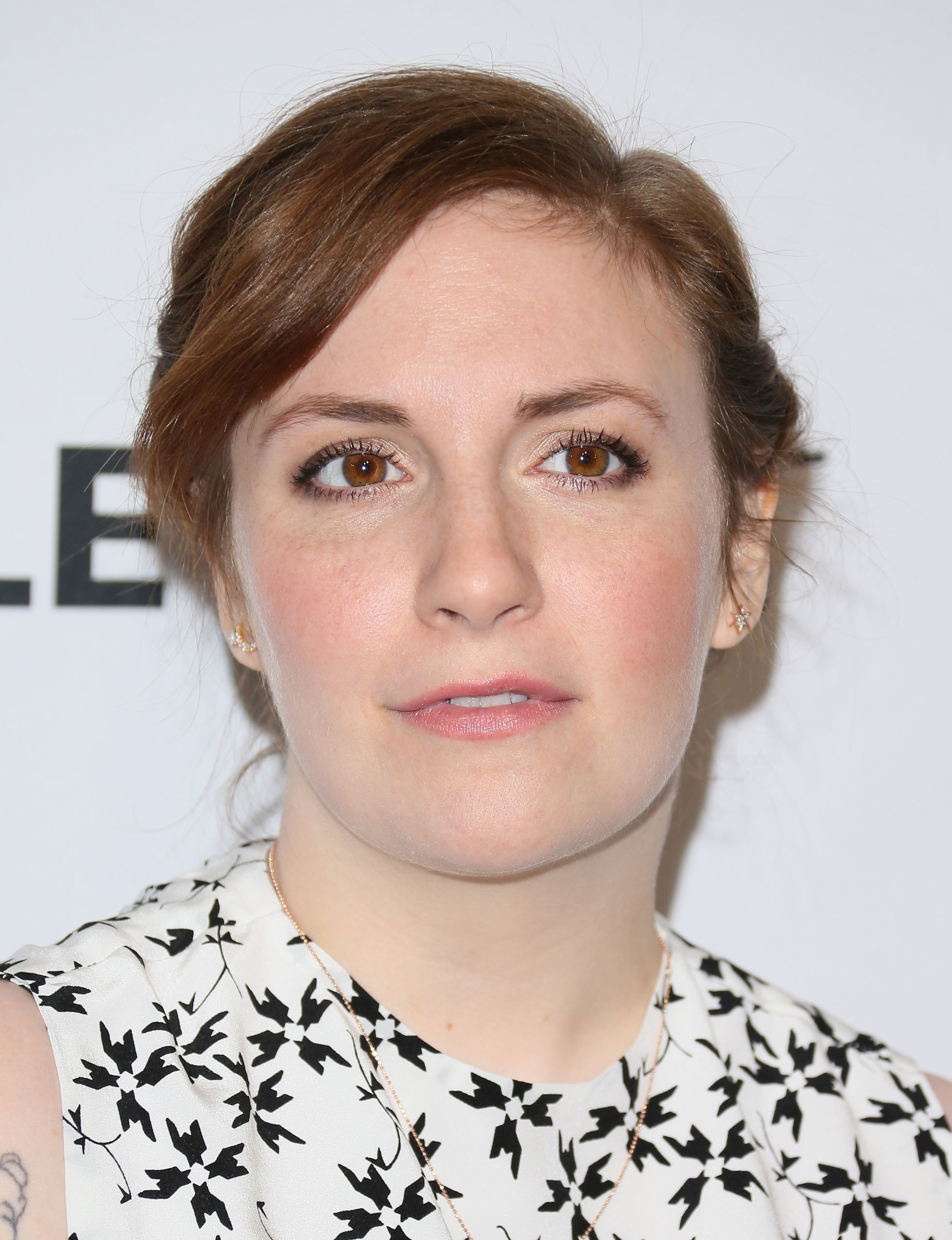 Lena Dunham at the Dolby Theatre on March 8, 2015 in Hollywood.