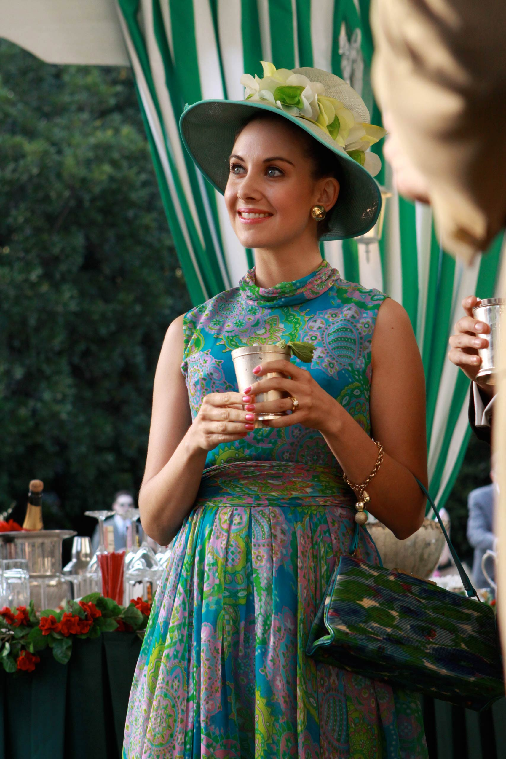 <strong>Trudy's floral dress</strong>                                    Trudy's garden party outfit is put to good use when she and Pete impress guests with a mean performance of the Charleston.