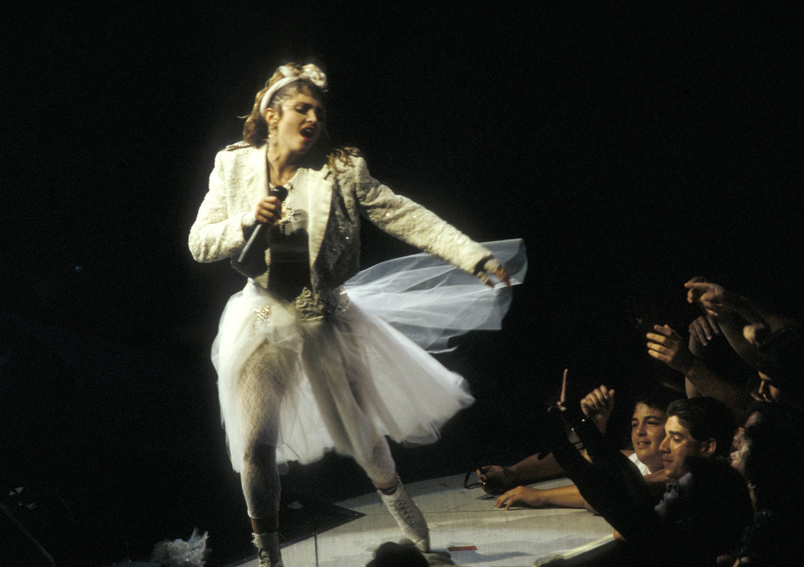 Madonna in concert in 1985.