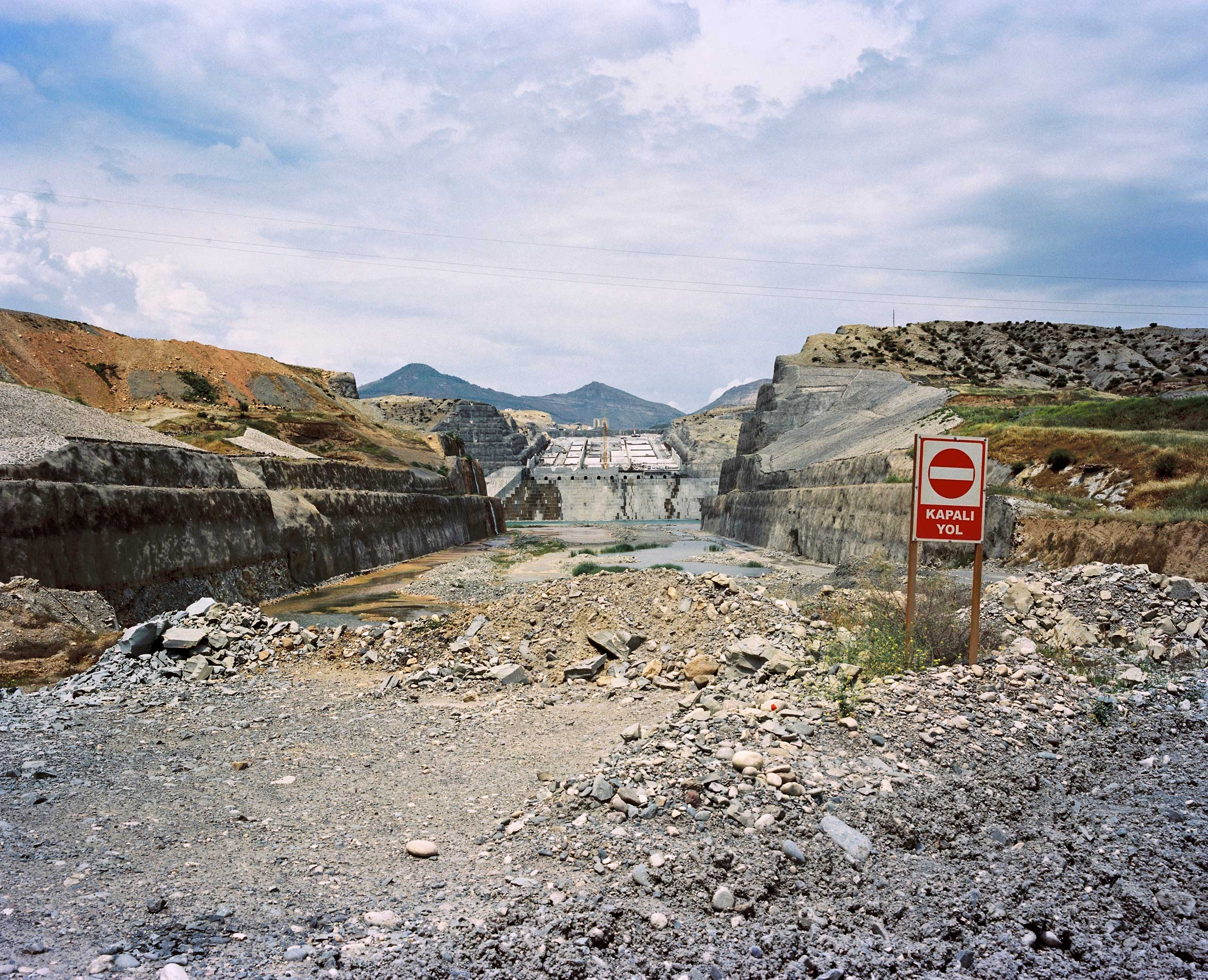 Ilisu Dam construction site. Ilisu, Turkey.
