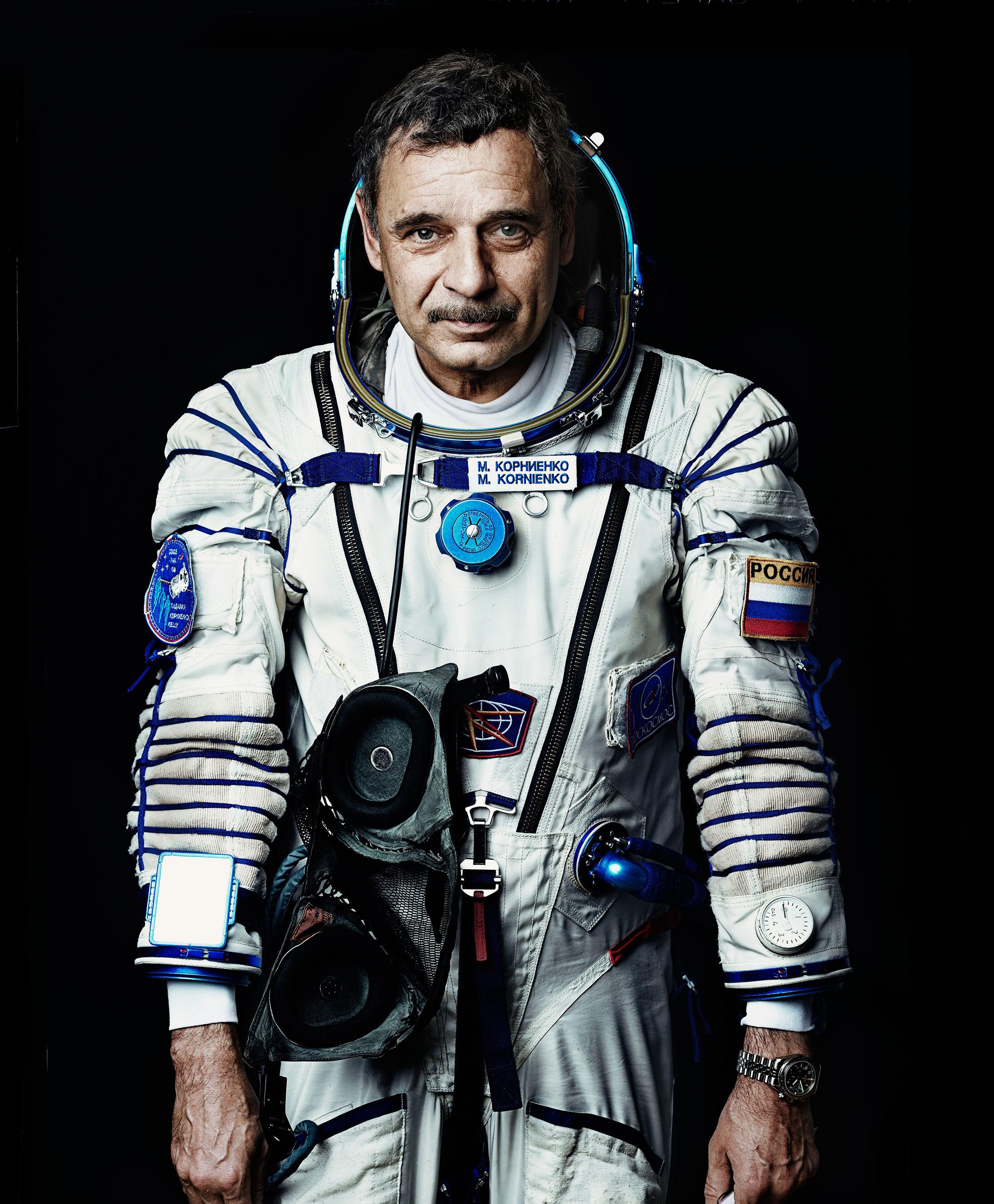 Russian Cosmonaut Mikhail Kornienko