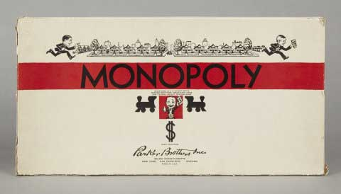 Monopoly Game 1935