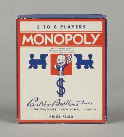 Monopoly Popular Edition Game 1936