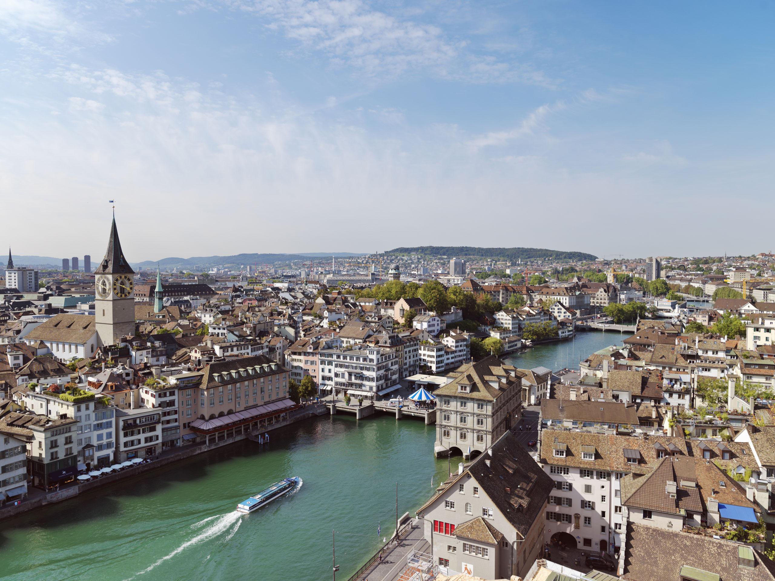4. Zurich, Switzerland