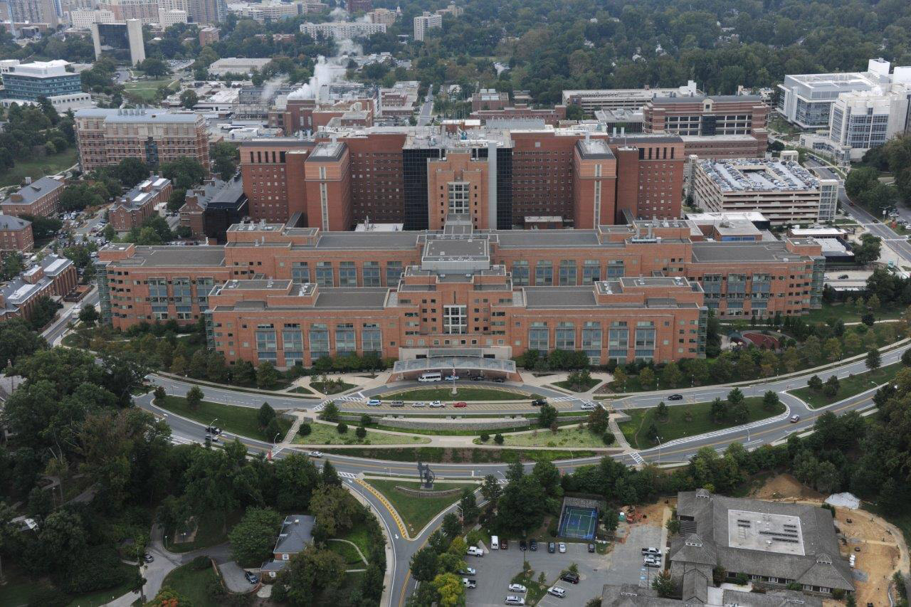 The National Institute of Health Clinical Center in Bethesda, Md.