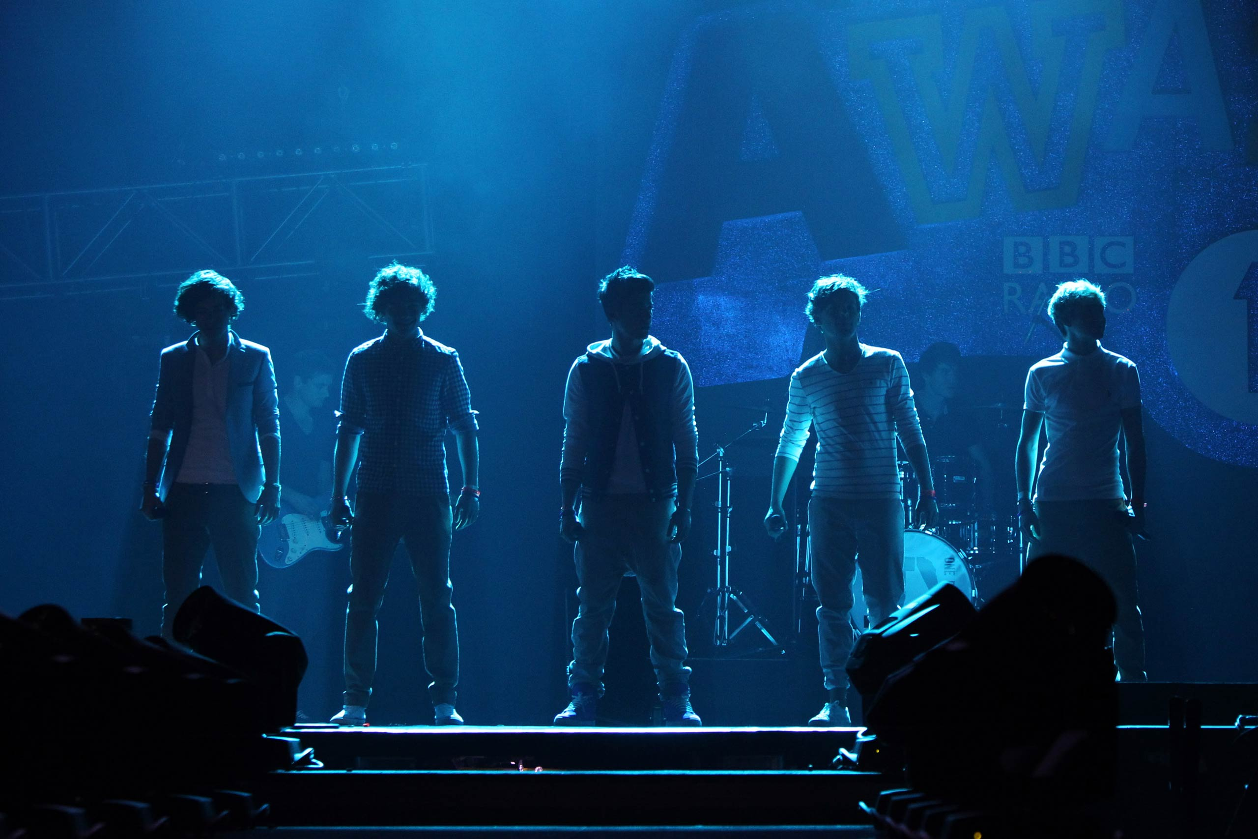 One Direction perform at the BBC Teen Awards at Wembley arena in London, England in 2011.