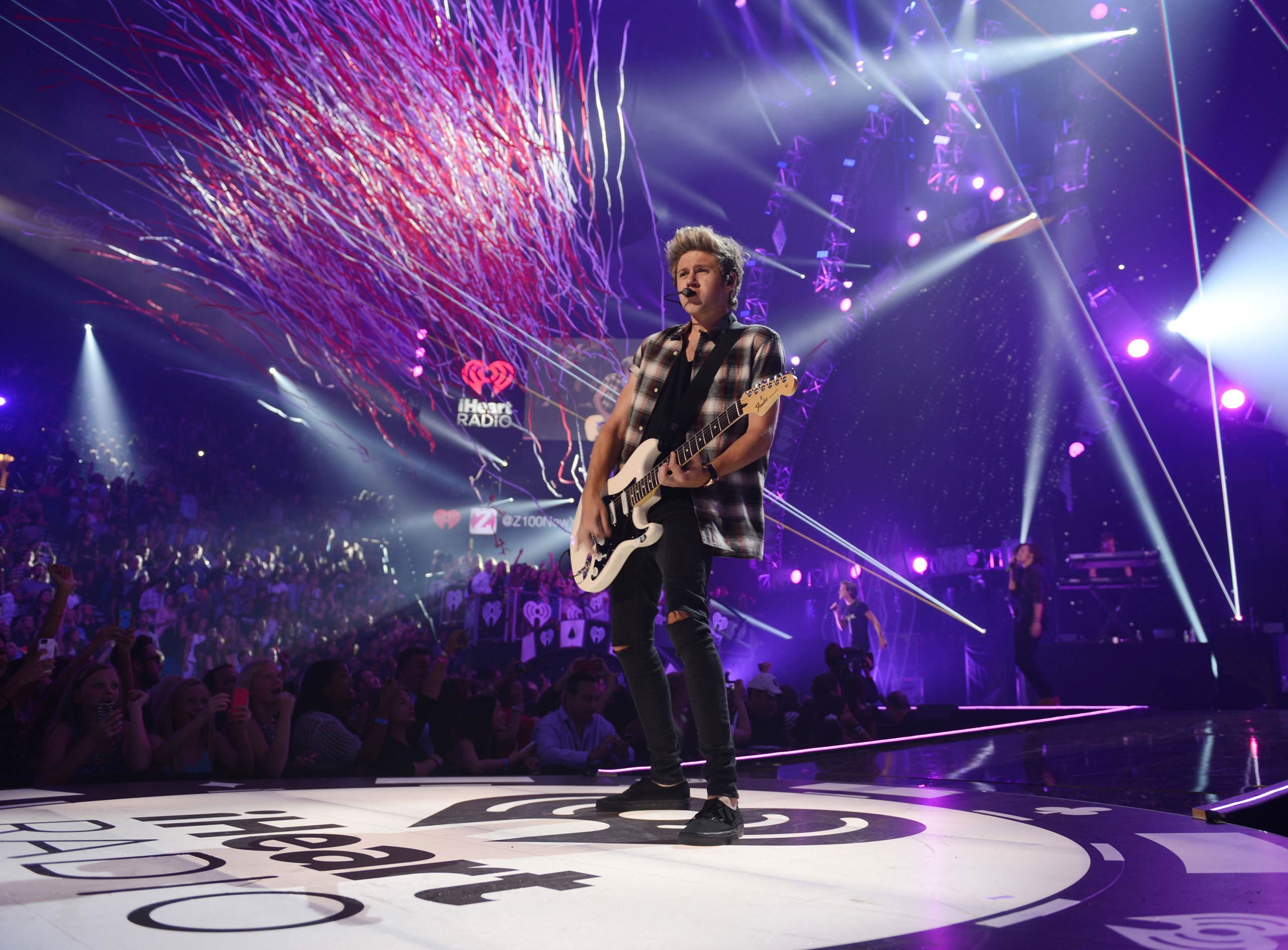 Niall Horan of One Direction performs onstage during the 2014 iHeartRadio Music Festival at the MGM Grand Garden Arena on Sept. 20, 2014 in Las Vegas, NV.