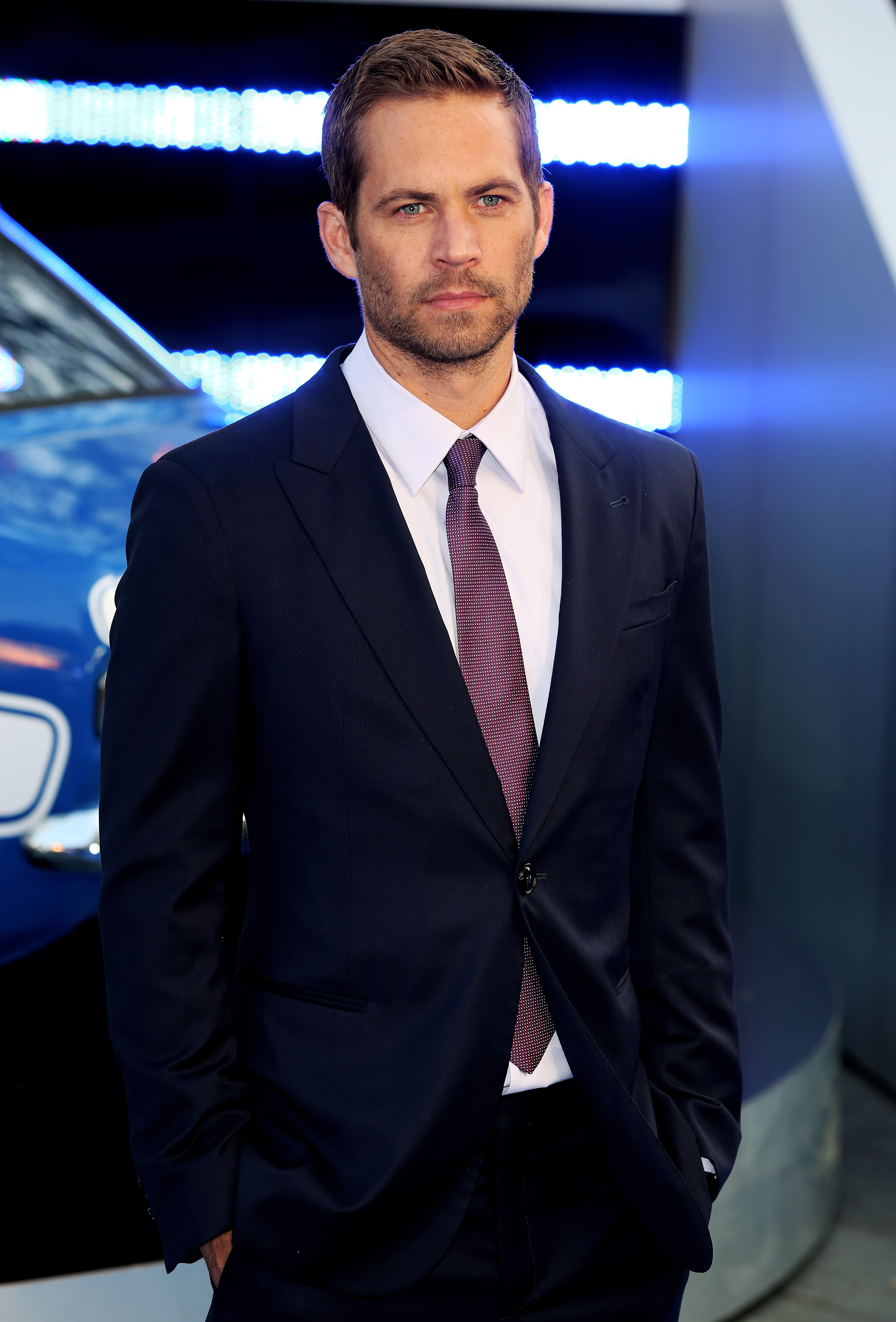 Actor Paul Walker attends the World Premiere of 'Fast & Furious 6' on May 7, 2013 in London.