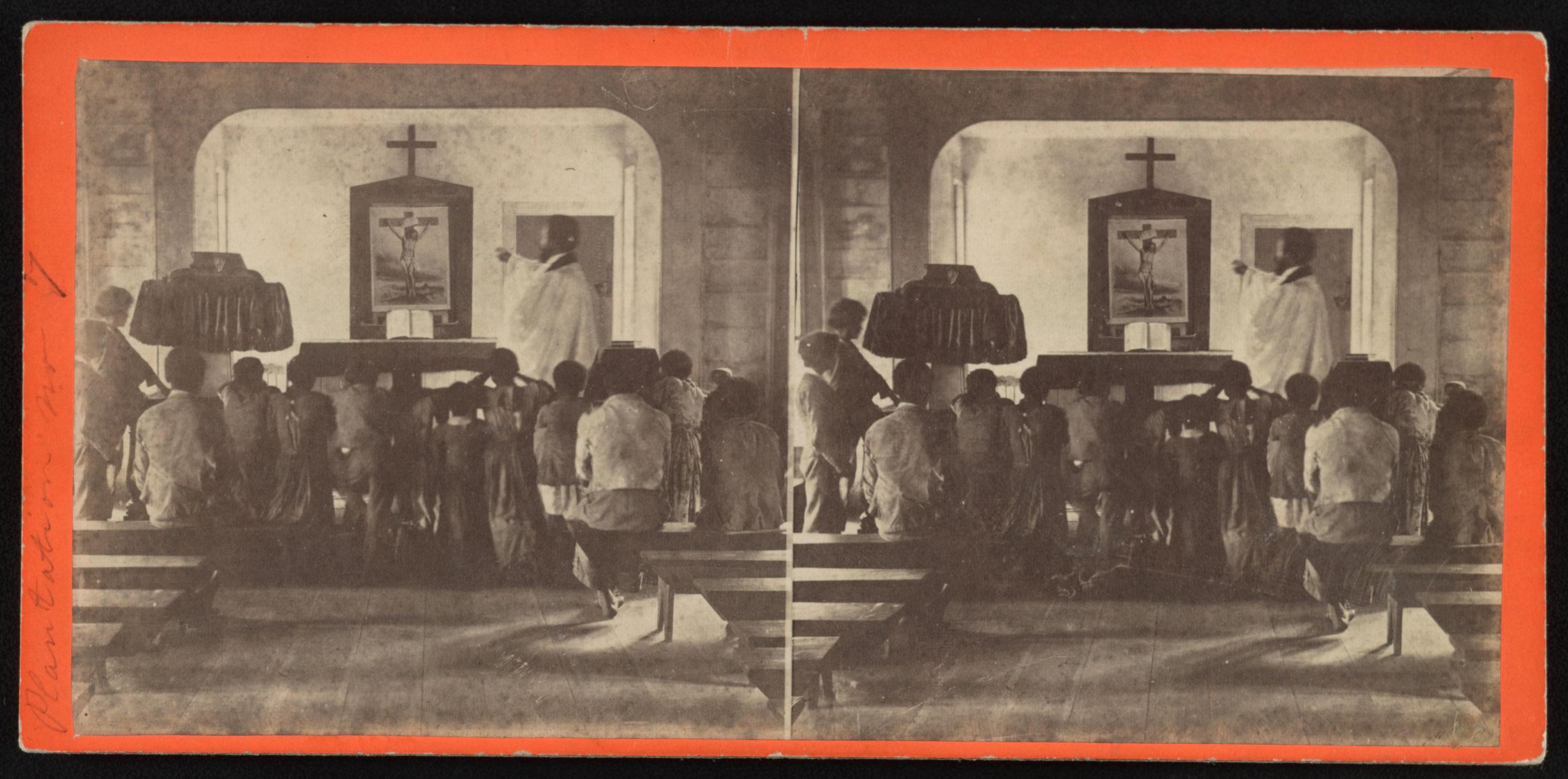 Rockville Plantation negro church,  Charleston, S.C., Jan. 31, 1863.