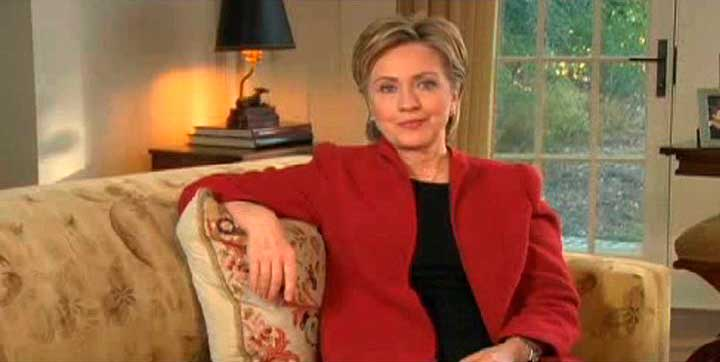 "Hillary Clinton launched her presidential campaign on Jan. 20, 2007, by posting the words ""I'm in"" on her website."