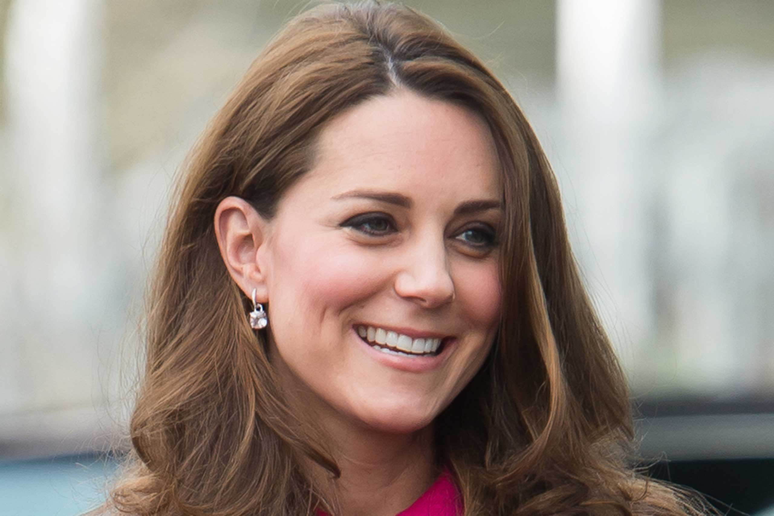 Catherine, Duchess of Cambridge visits the Stephen Lawrence Centre on March 27, 2015.