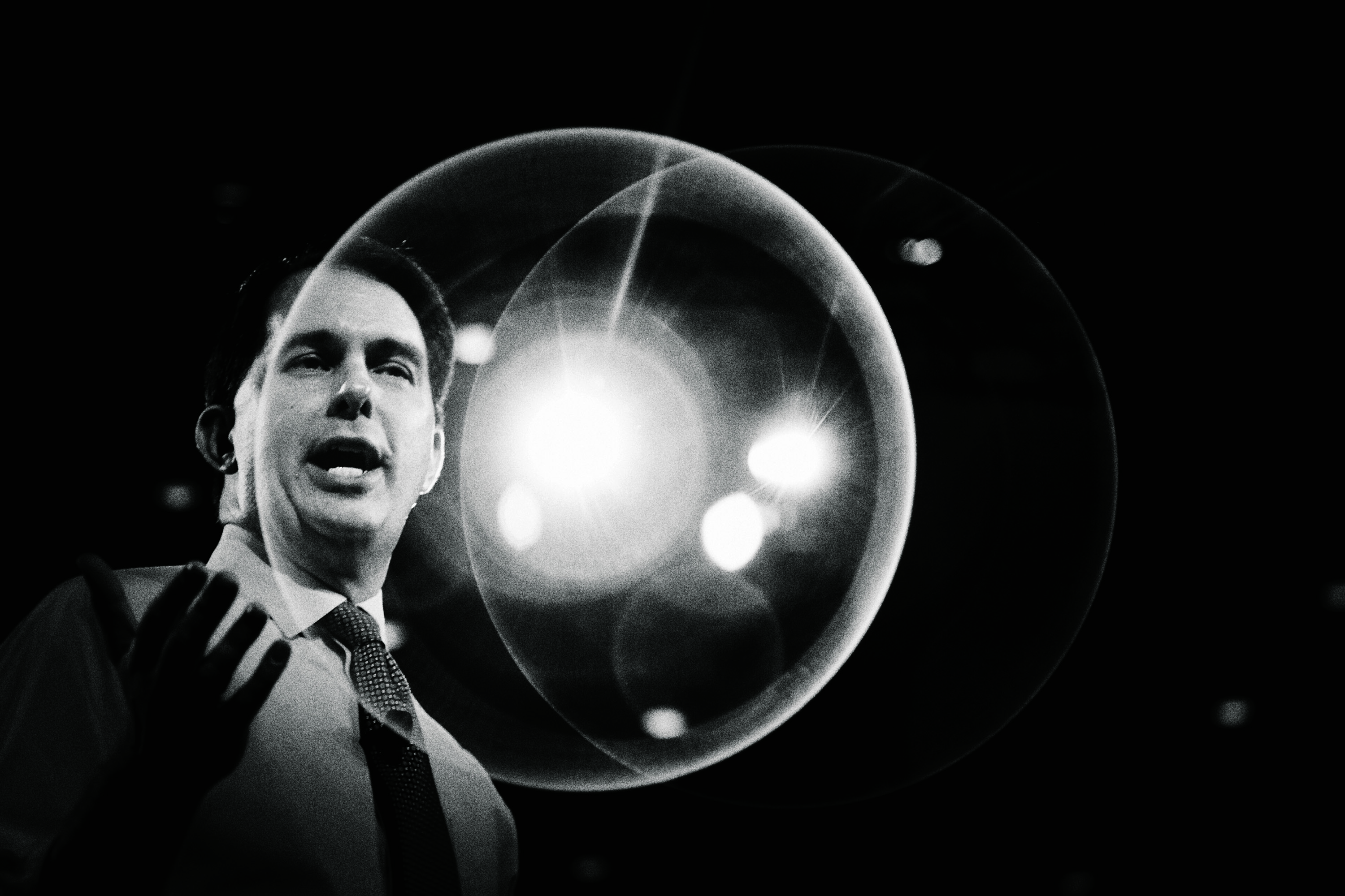 Walker charms crowds at the Conservative Political Action Conference in February.
