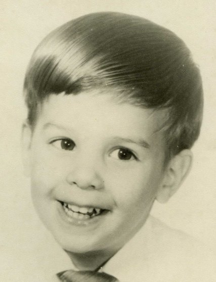 Scott Walker at age 2.