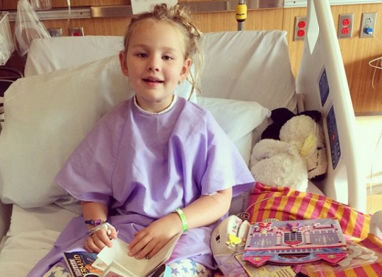 Eight-year-old Bailey Sheehan was diagnosed with mysterious paralysis in October.