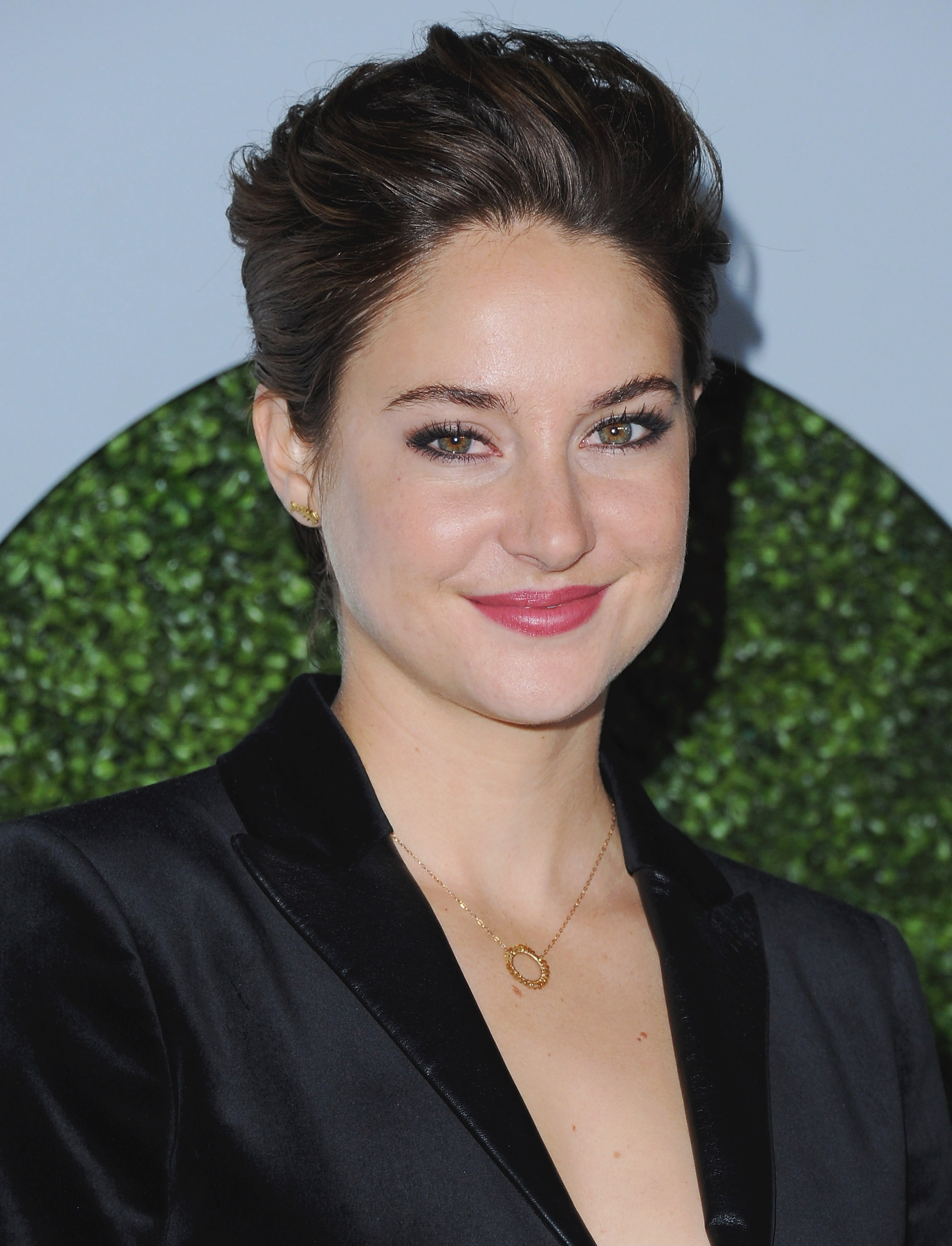 Actress Shailene Woodley arrives at the 2014 GQ Men Of The Year Party at Chateau Marmont on December 4, 2014 in Los Angeles, California.