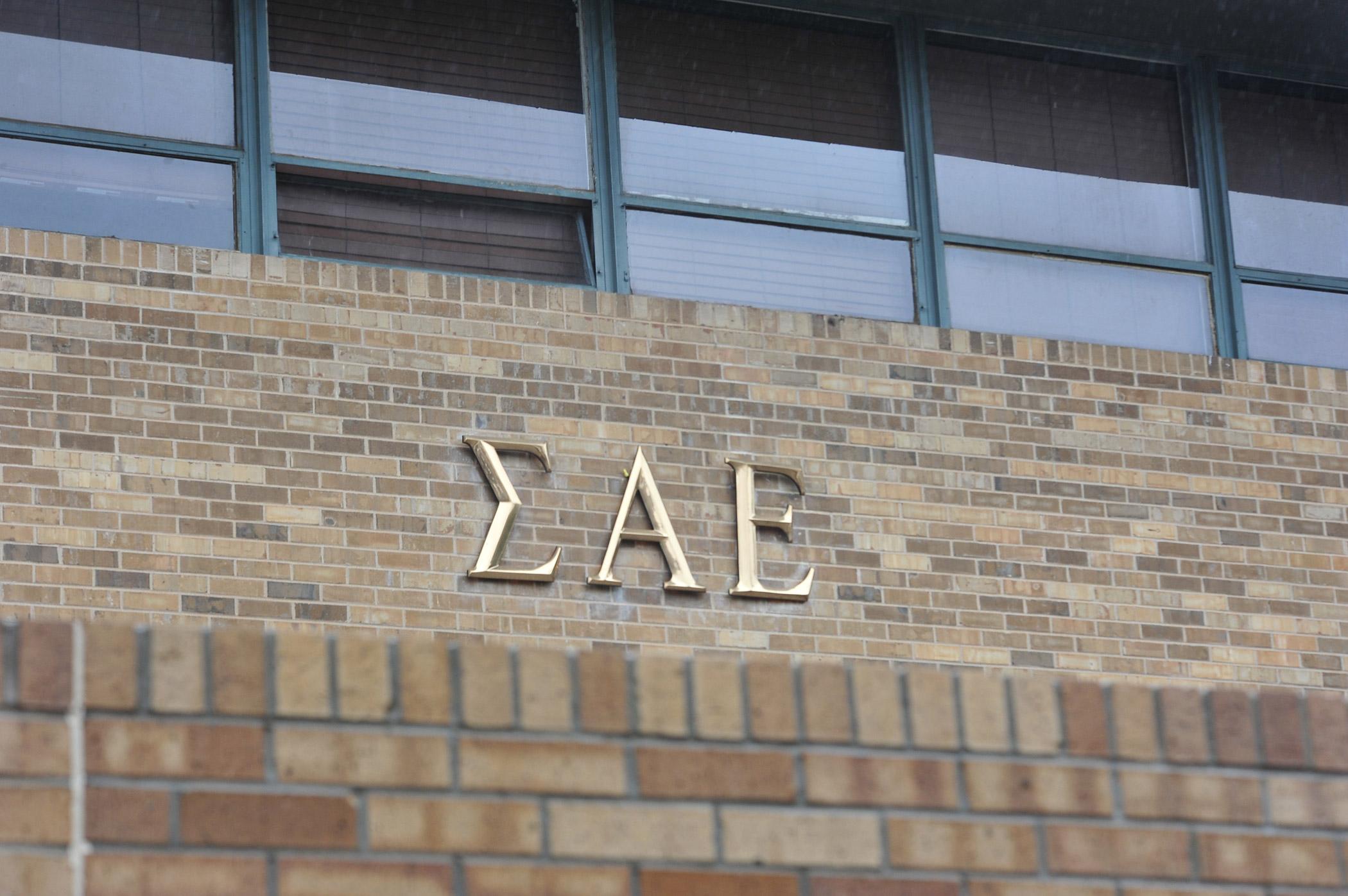 The Sigma Alpha Epsilon house at the University of Oklahoma on Monday, March. 9, 2015 in Norman, Okla.
